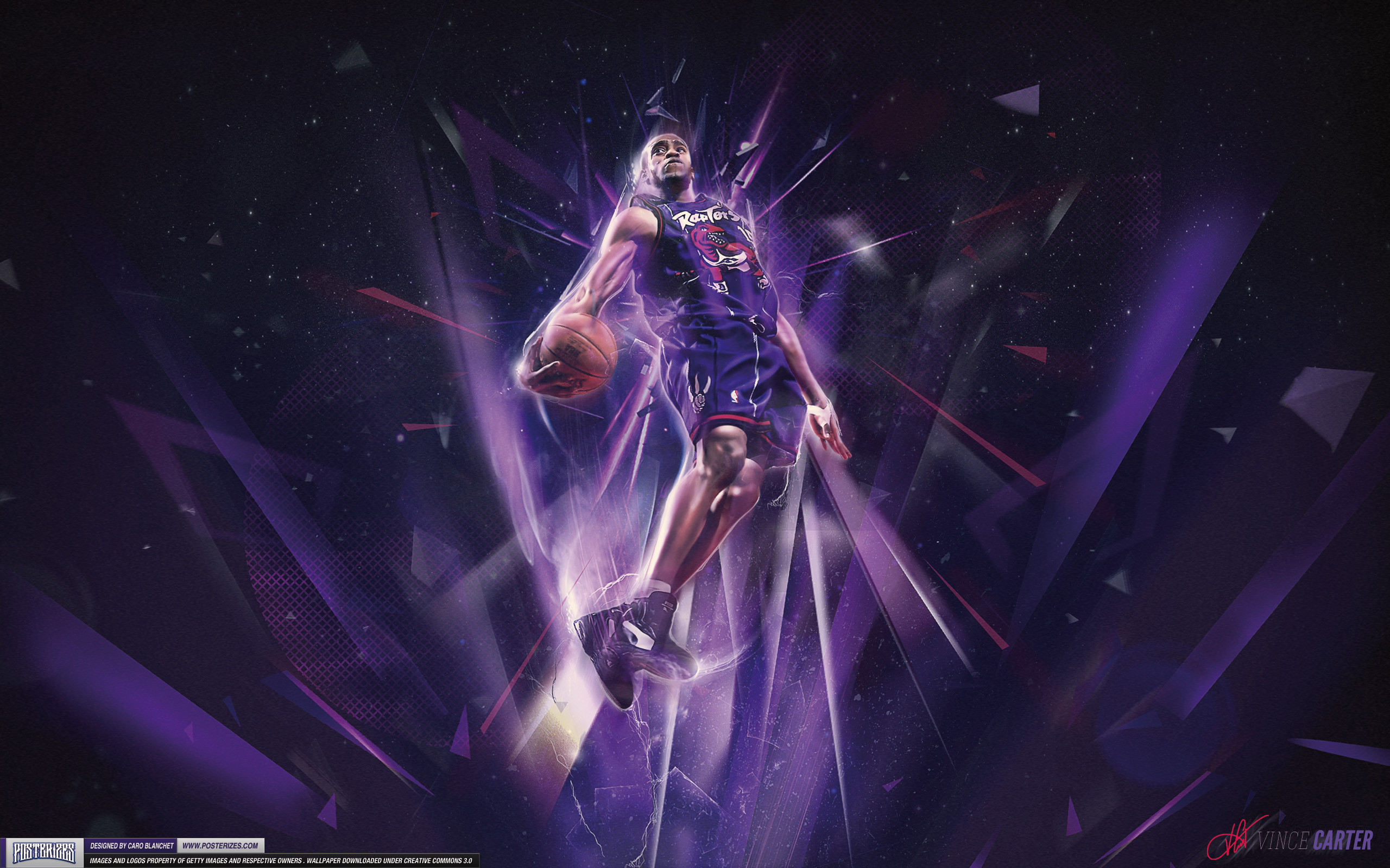 2560x1600 Vince Carter – 'Dunk Contest' (WALLPAPER)