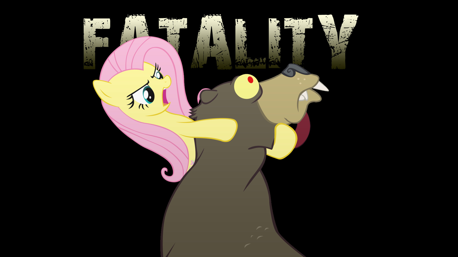 1920x1080 My Little Wallpaper  My, Little, Pony, Fluttershy, Bears .