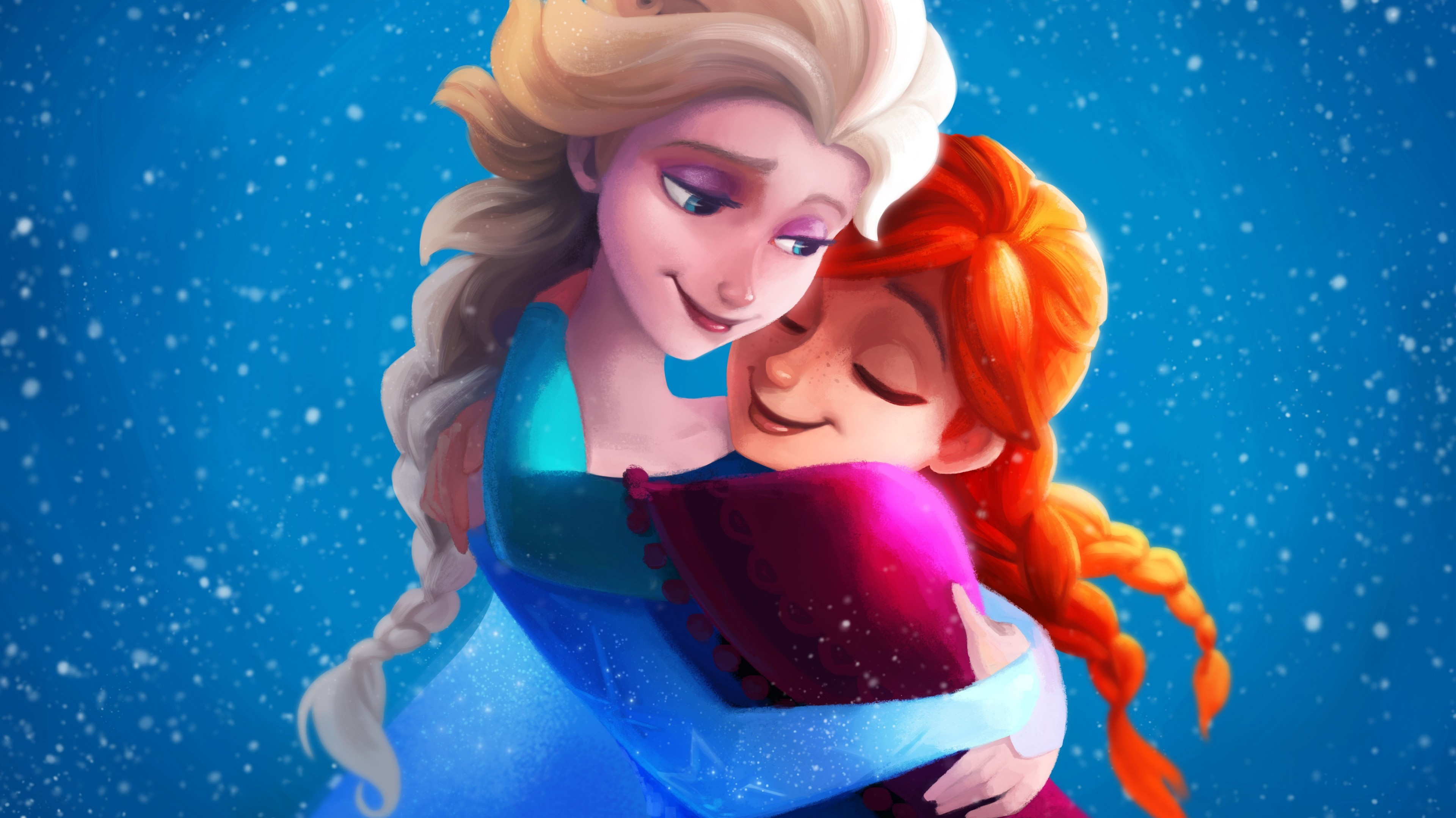 frozen fever elsa wallpaper (74+ images)