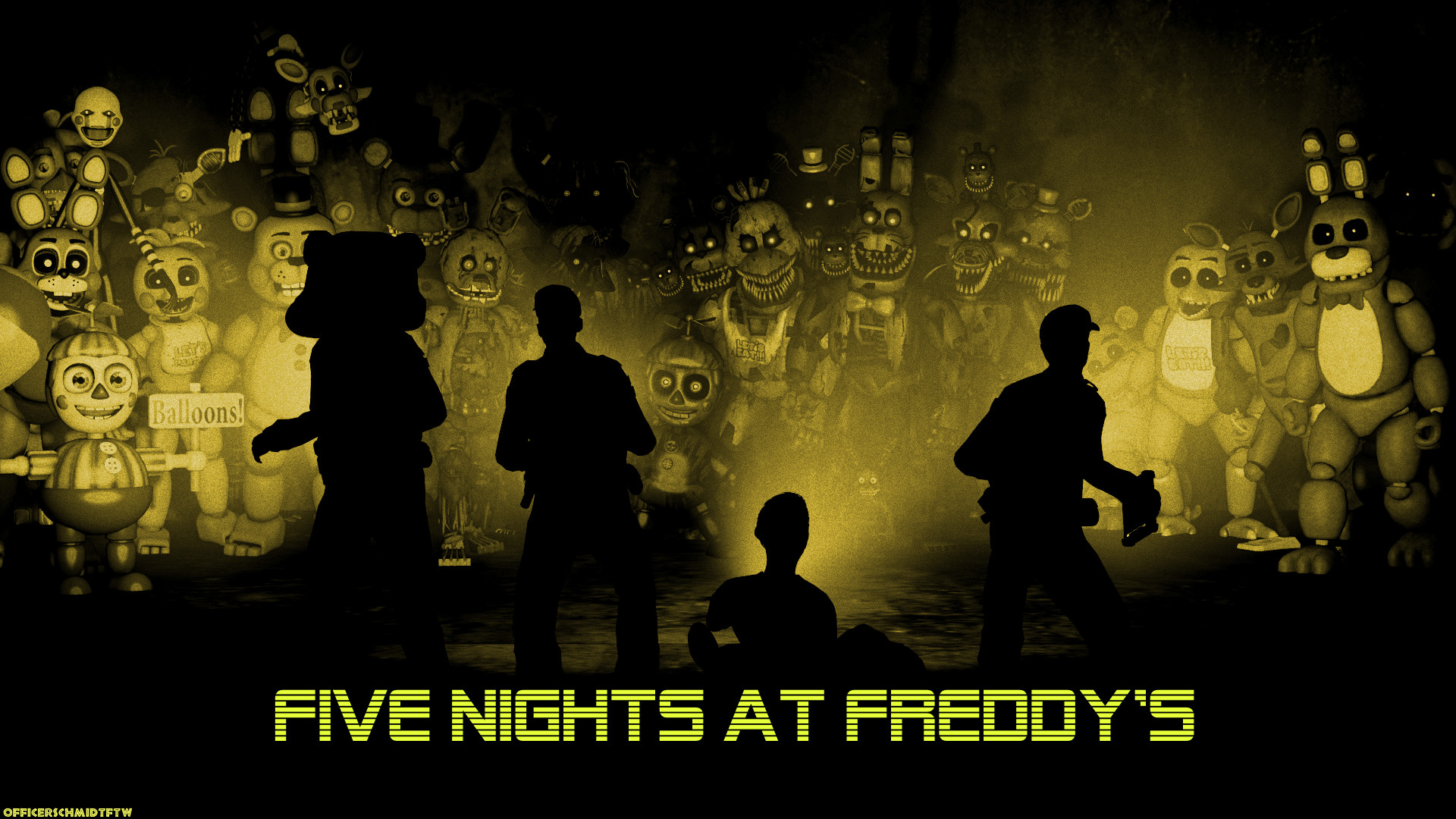 1920x1080 ... OfficerSchmidtFTW Five Nights at Freddy's (SFM) by OfficerSchmidtFTW
