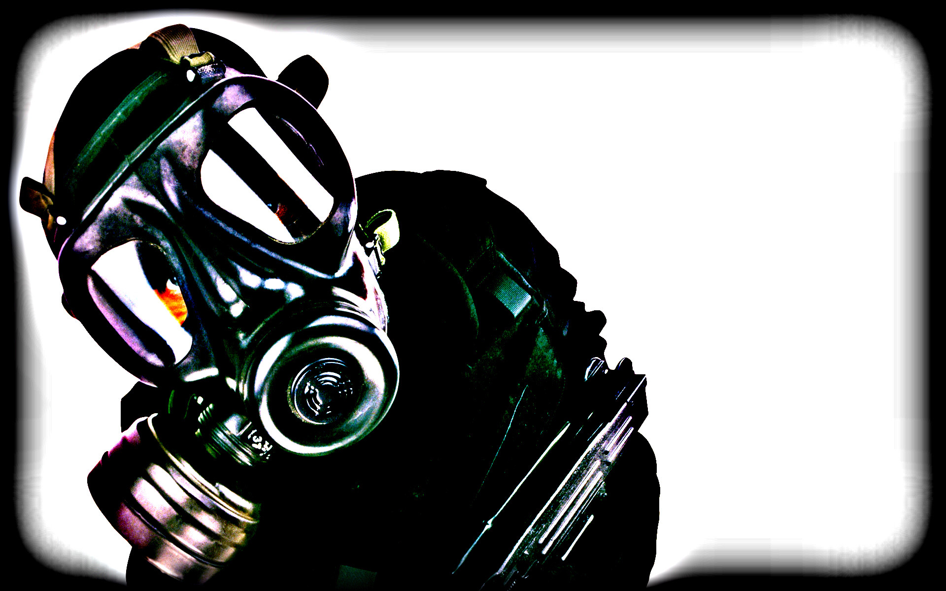 1920x1200 Gas Mask Iphone Hd Wallpaper | Pelauts.Com