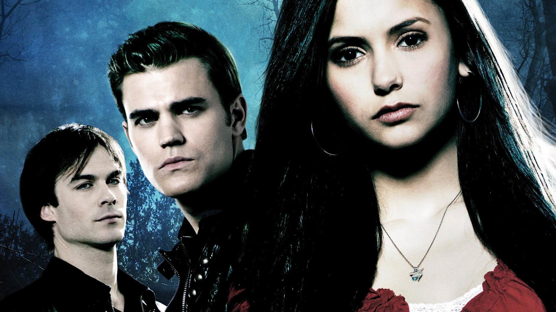 Vampire Diaries Wallpaper Damon and Elena (74+ images)