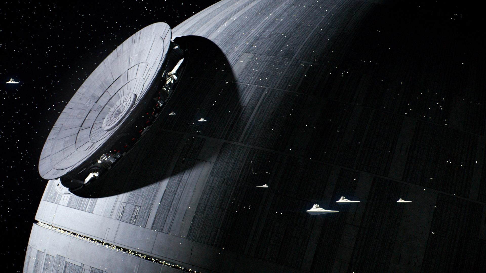 1920x1080 Star Wars: Rogue One Death Star Wallpaper