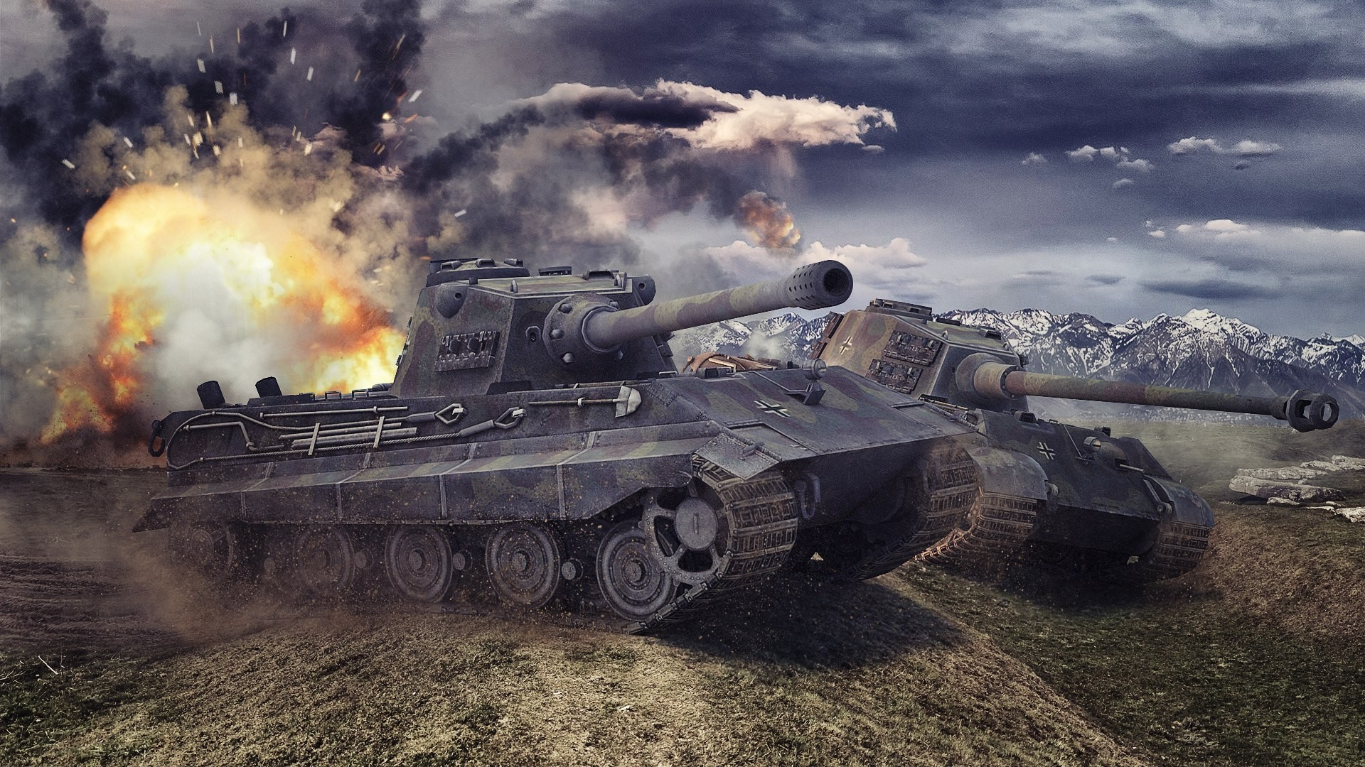King Tiger Tank Wallpaper 74 Images