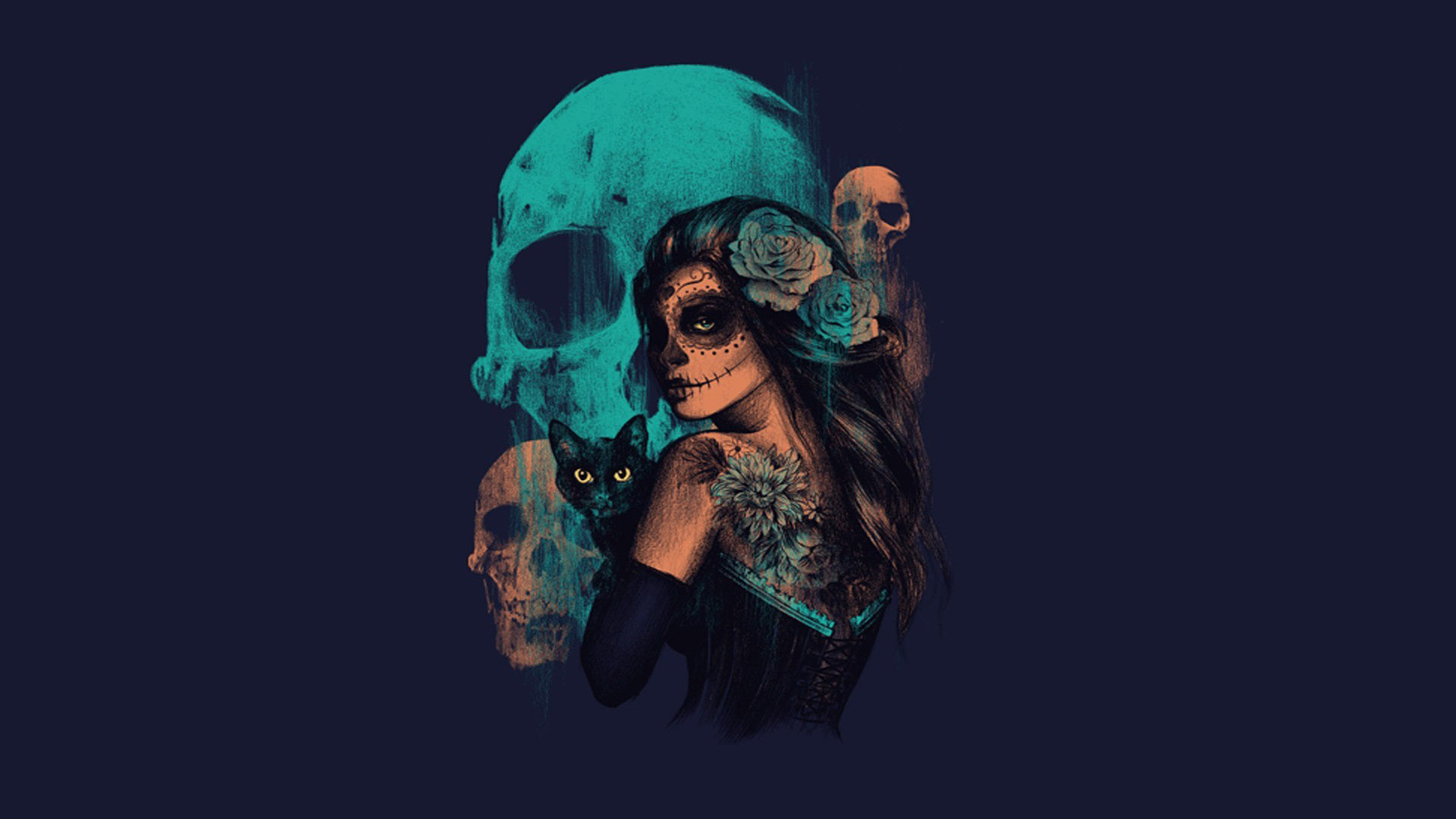 1920x1080 Day of the Dead HD Wallpaper  Day ...