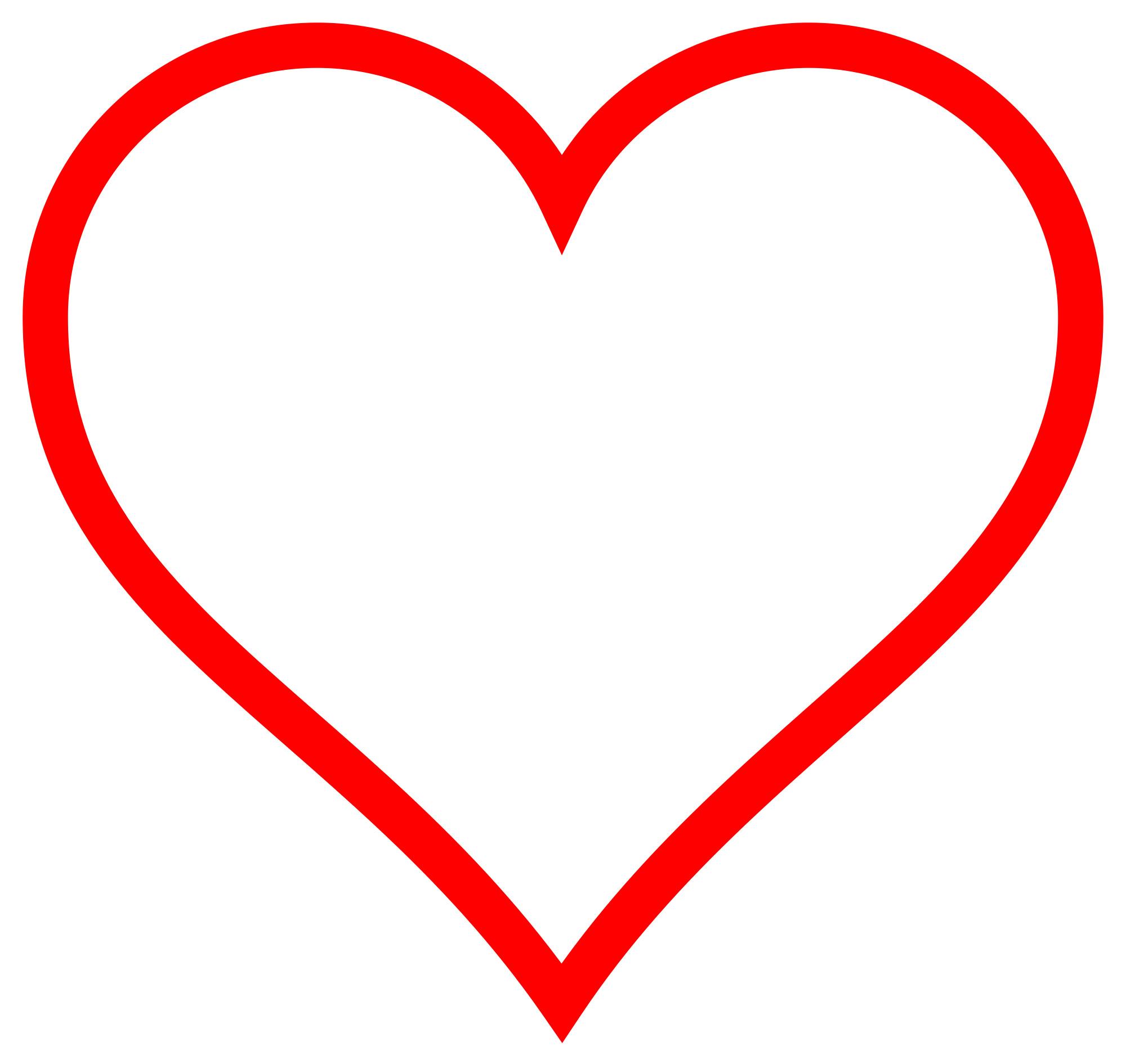 Full Screen Black Background Red Heart Wallpaper