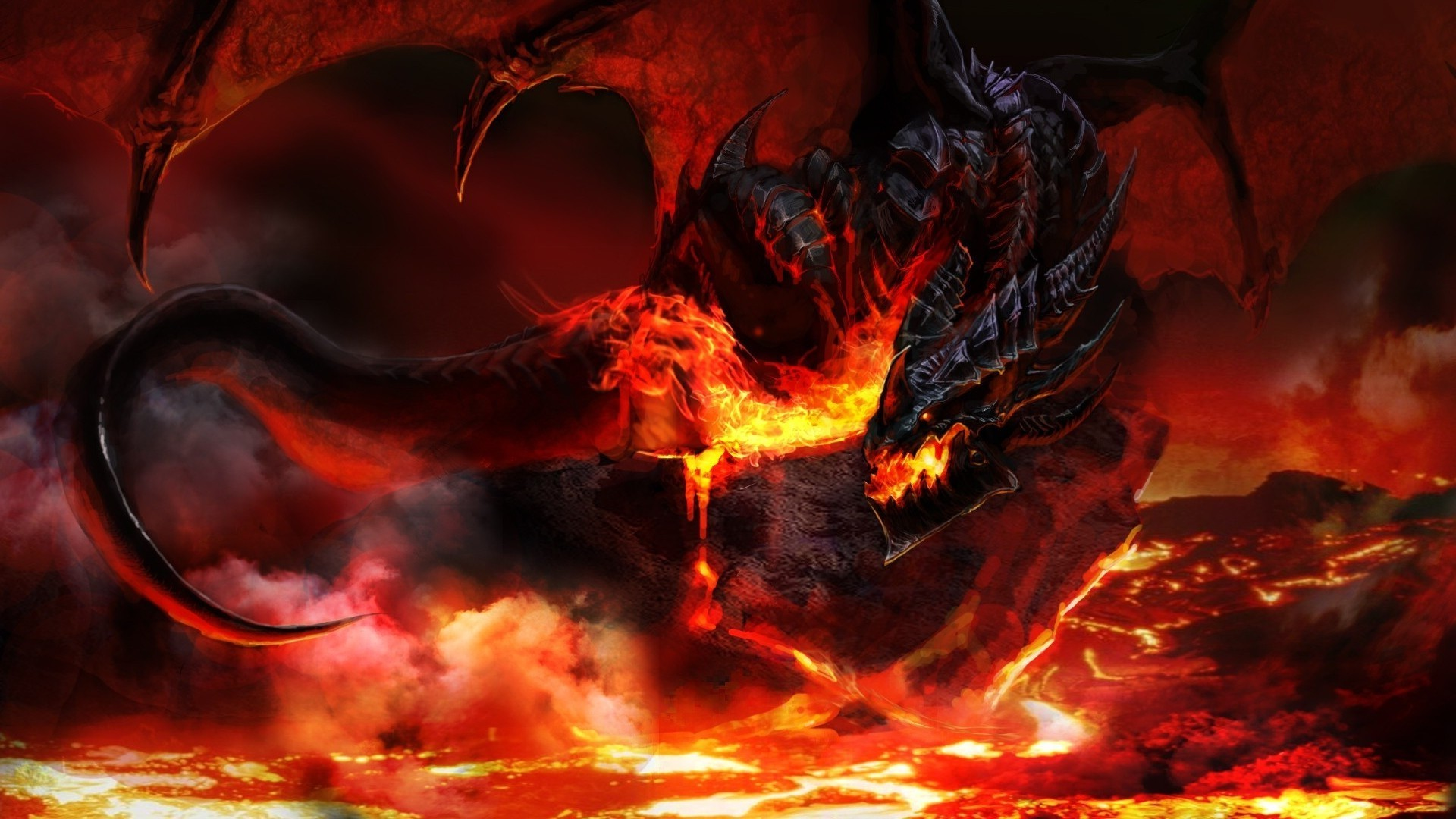 Red Fire Dragon: Red Dragon Wallpapers (60+ Images
