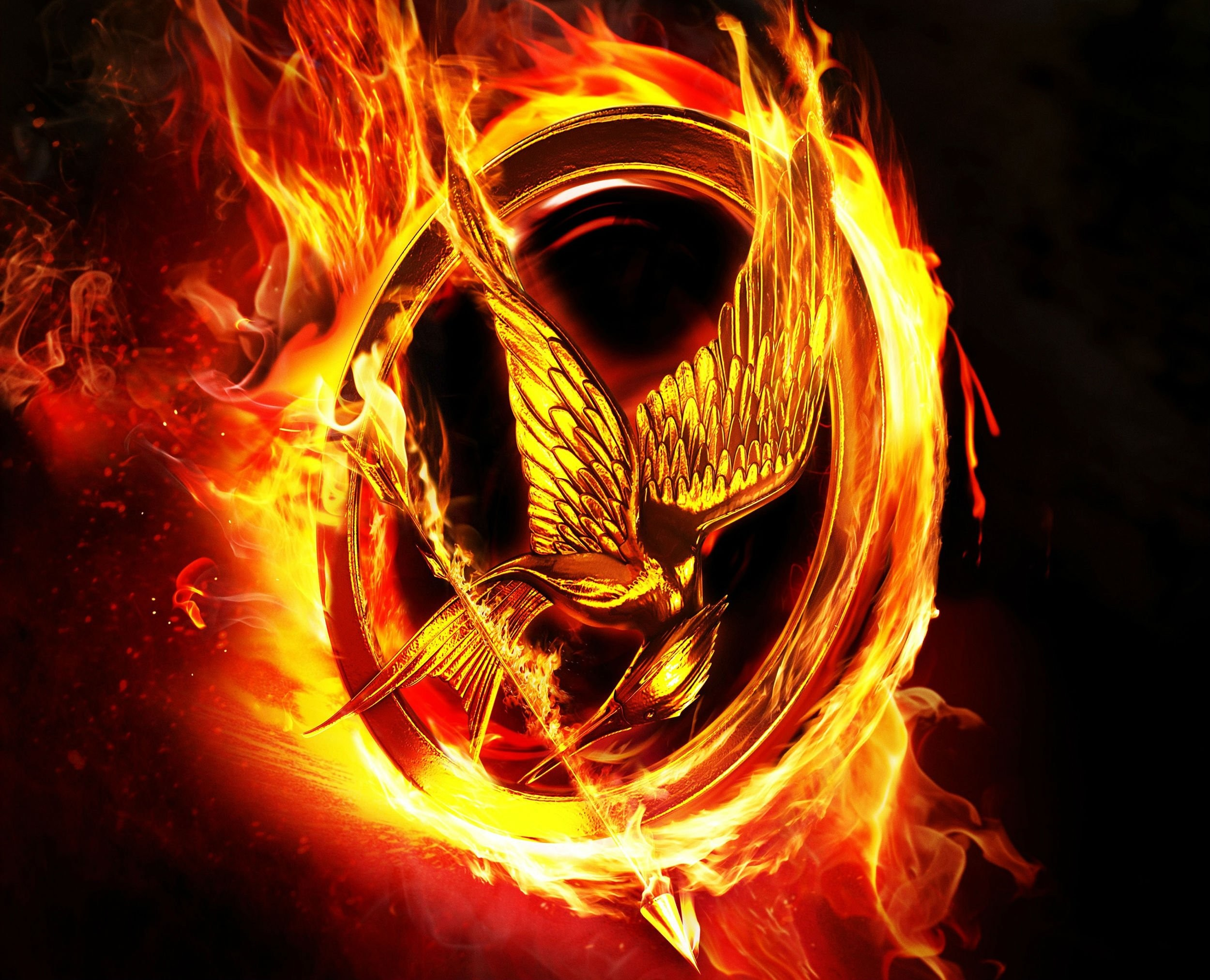 2500x2025 HUNGER GAMES MOCKINGJAY adventure sci-fi fantasy wallpaper background