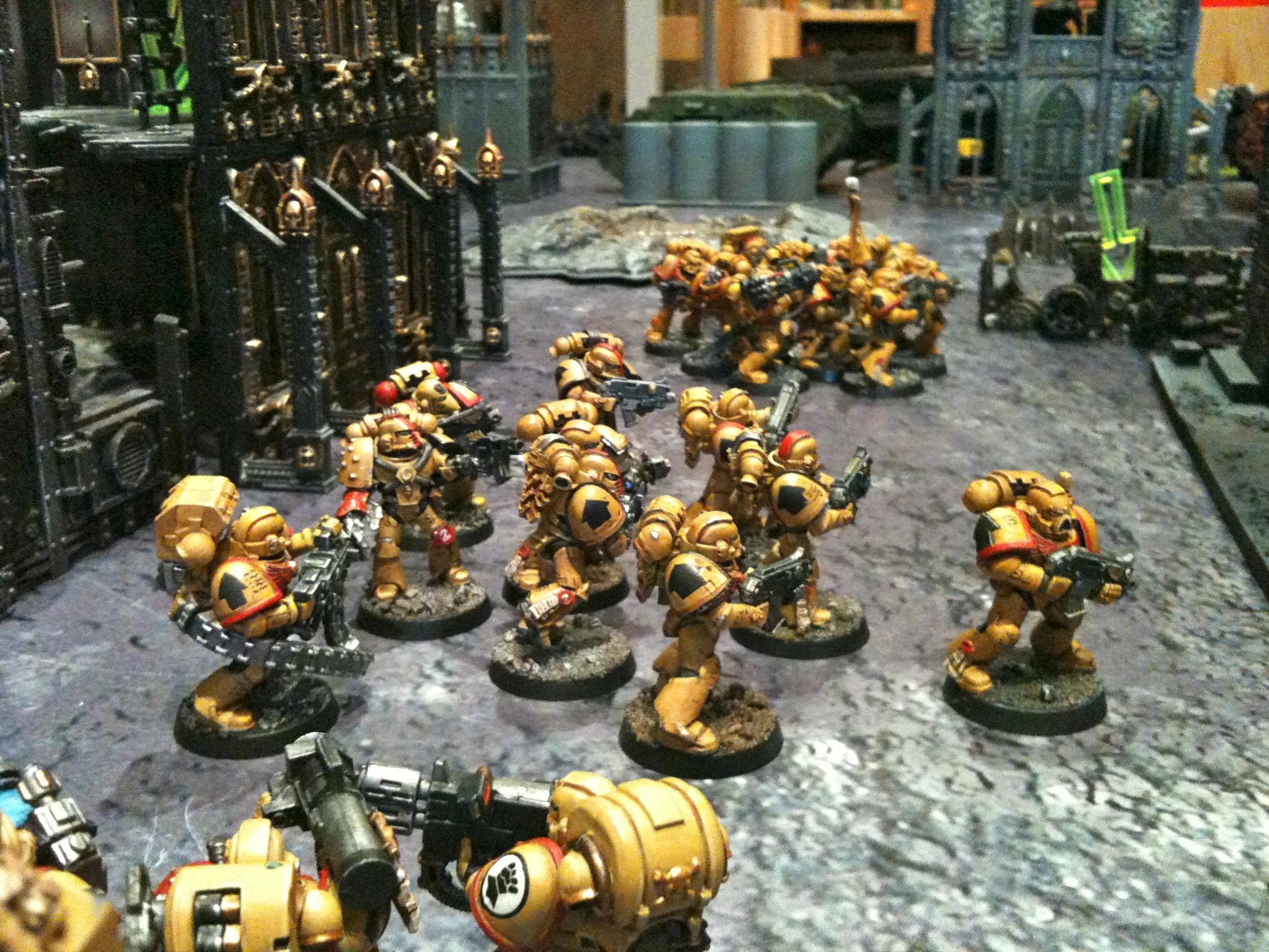 2048x1536 Battle Report, Cities Of Death, Imperial Fists, Salamander, Space Marines,  Terrain - Imperial Fist and Salamander Vs. Chaos - Gallery - DakkaDakka |  We've ...