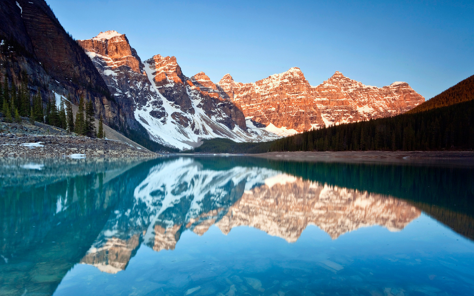 1920x1200 Attachment for Free HD wallpaper with Moraine Lake reflection photo