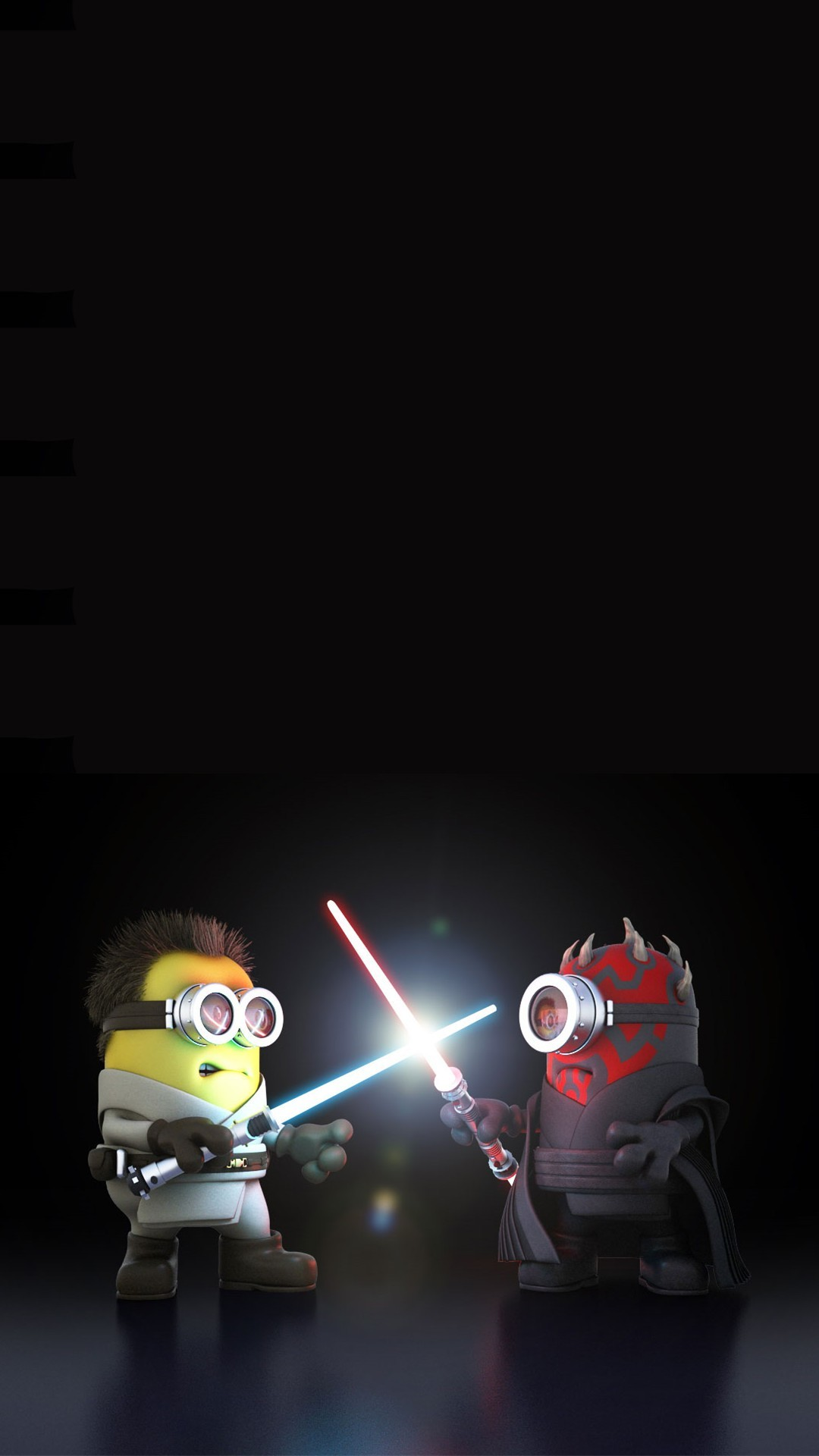 1080x1920 2014 Awesome Despicable Me Inspired Minions Star Wars iphone 6 plus  wallpaper for Halloween #iphone