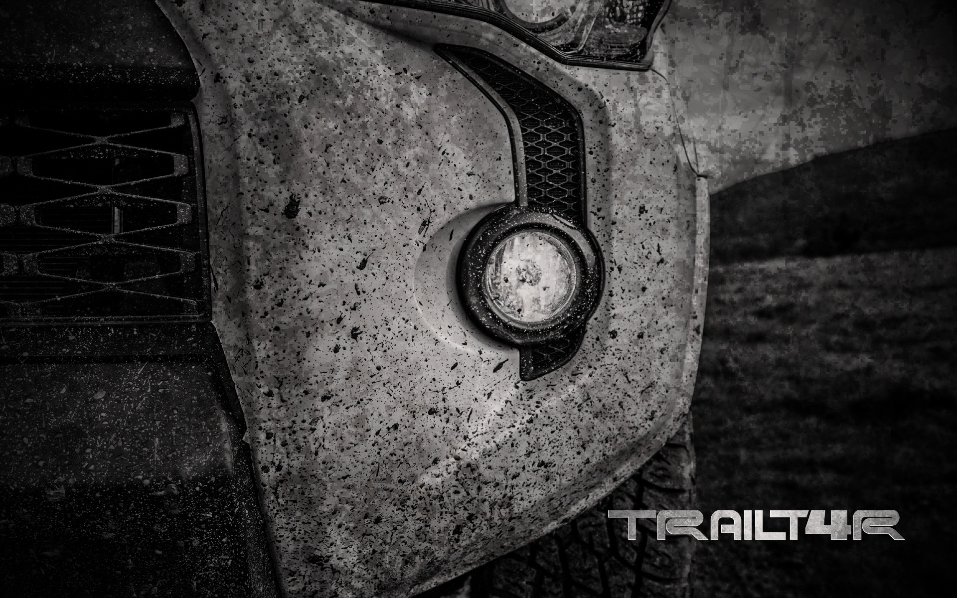 1920x1200 4Runner Grill Wallpaper Background - iPhone