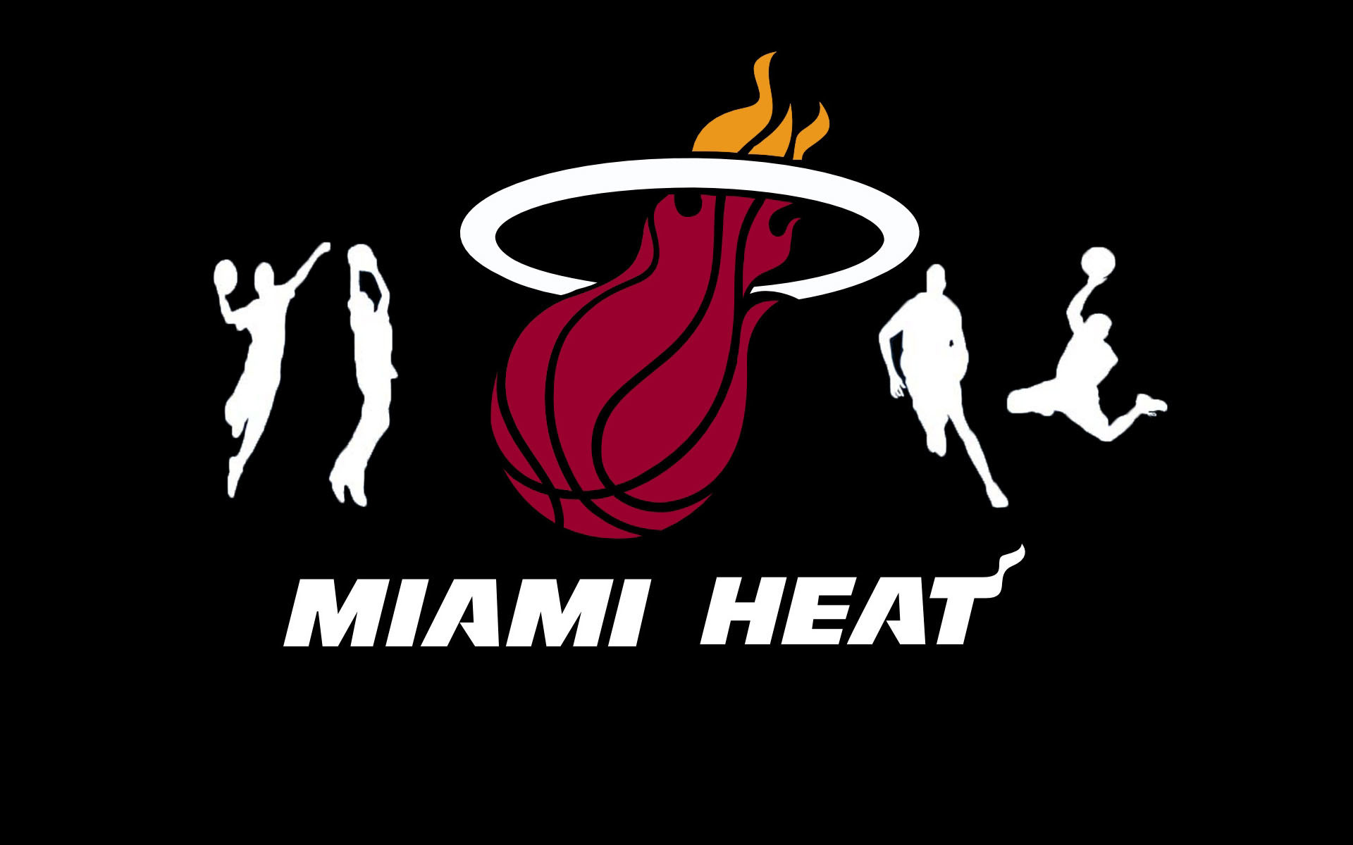 1920x1200 NBA Miami Heat Logo  wallpaper