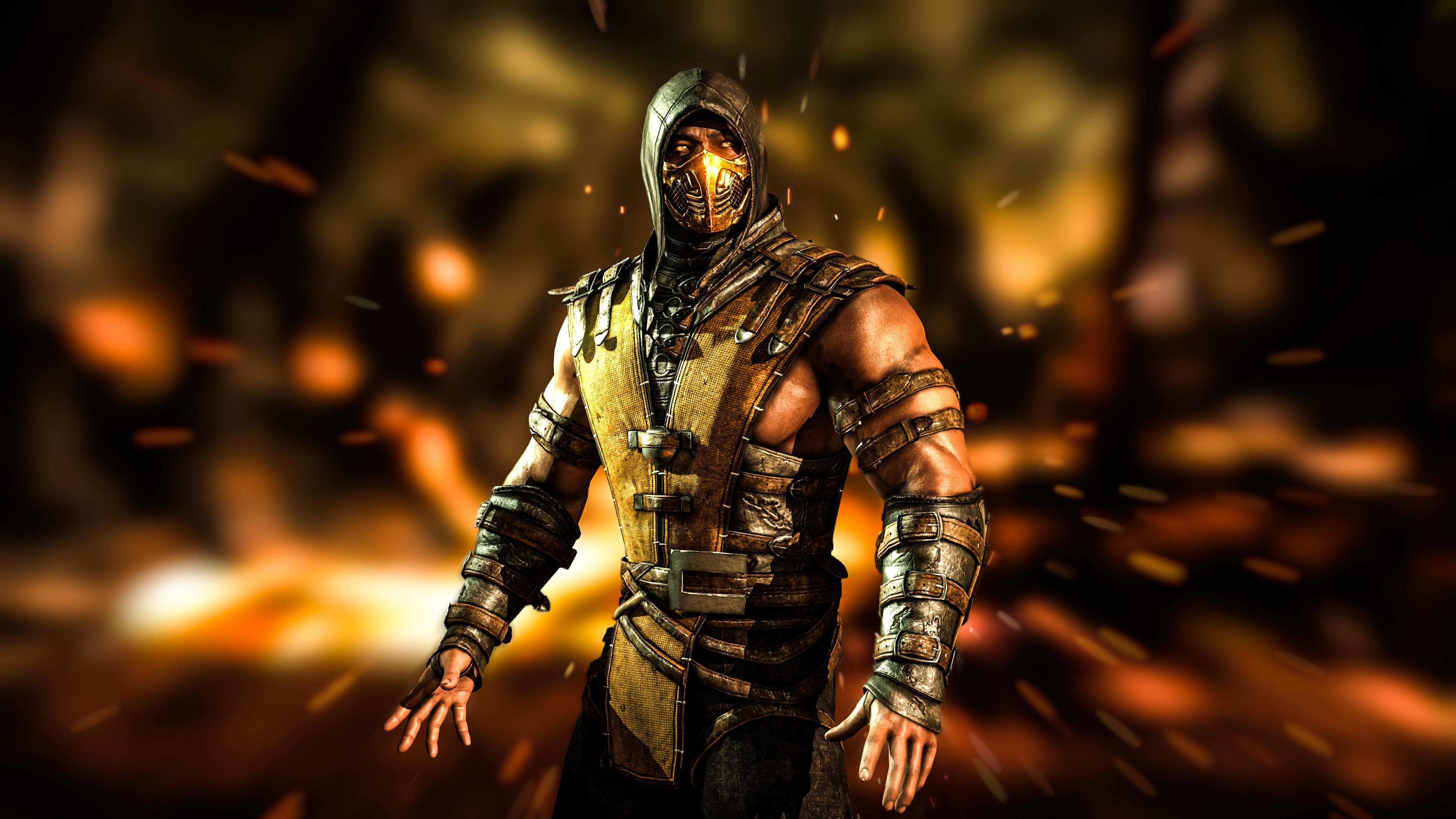 Mortal Kombat X Scorpion Wallpapers 74 Images