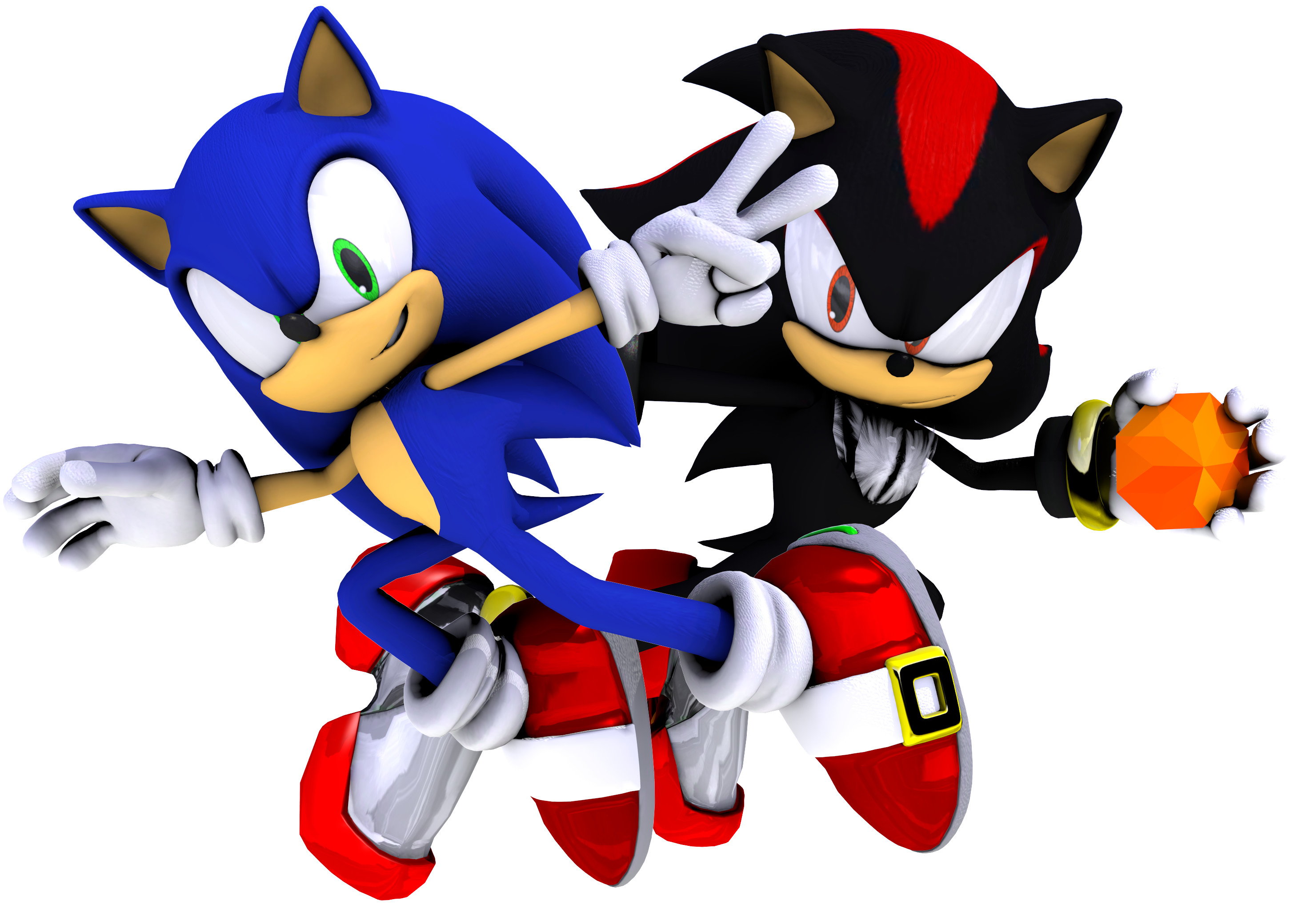2920x2080 ... Sonic Adventure 2 Poses - my edit. by IceFoxesDX