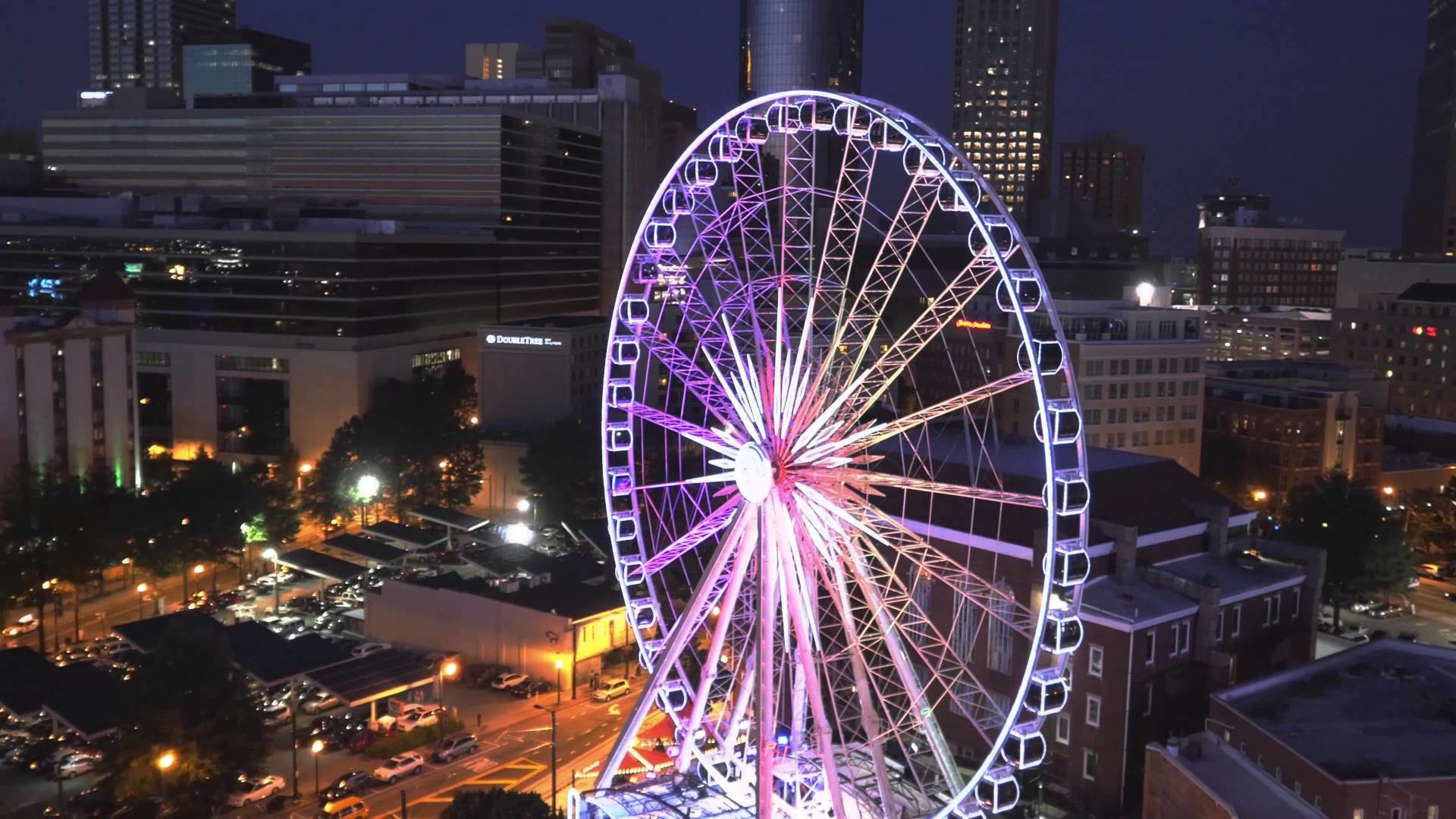 1920x1080 Park Centennial Atlanta Night HD Wallpaper 7 - 1920 X 1080