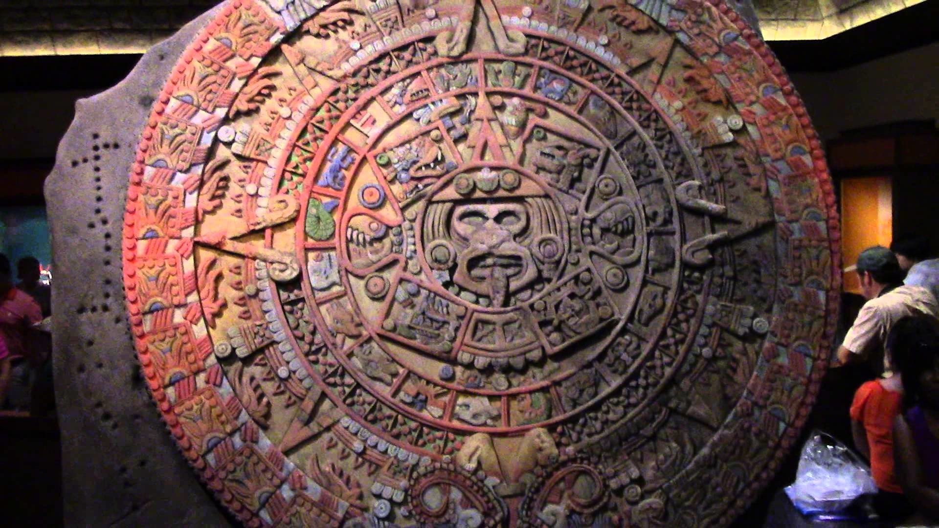 1920x1080 Aztec Calendar - EPCOT Mexico Pavilion - Cool Color Fade Effect - Walt  Disney World