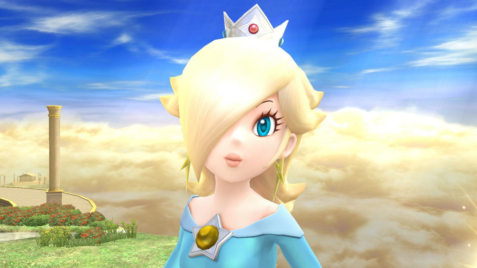 1920x1080 Sometimes I feel like Rosalina doesn't smile enough. Whenever Rosalina  smiles, it really makes her feel more adoring, as it shows that she's a  very caring ...