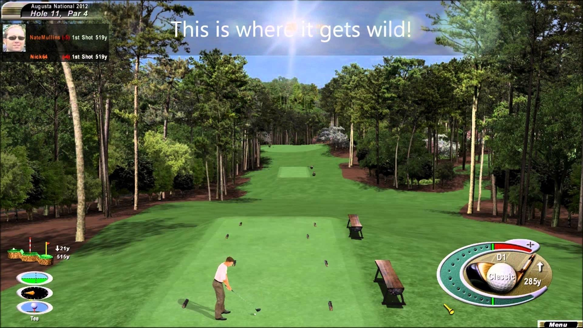 1920x1080  Masters 2018: Augusta National showing teeth early in Round 1 |  Golf | Sporting News