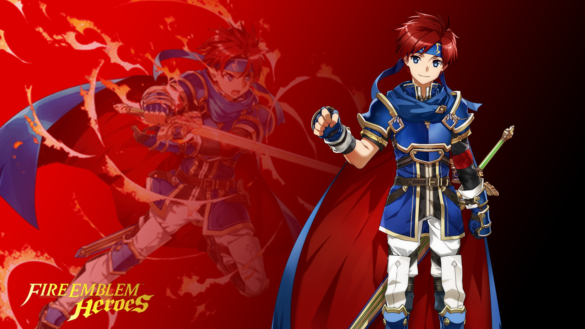 1920x1080 ... Fire Emblem Heroes - Roy Wallpaper ( Res) by russell4653