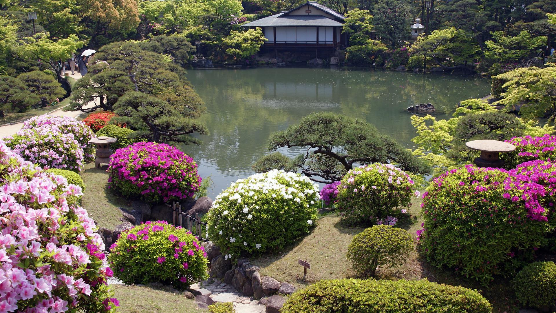 1920x1080 Lovely Zen Garden Wallpaper 2695