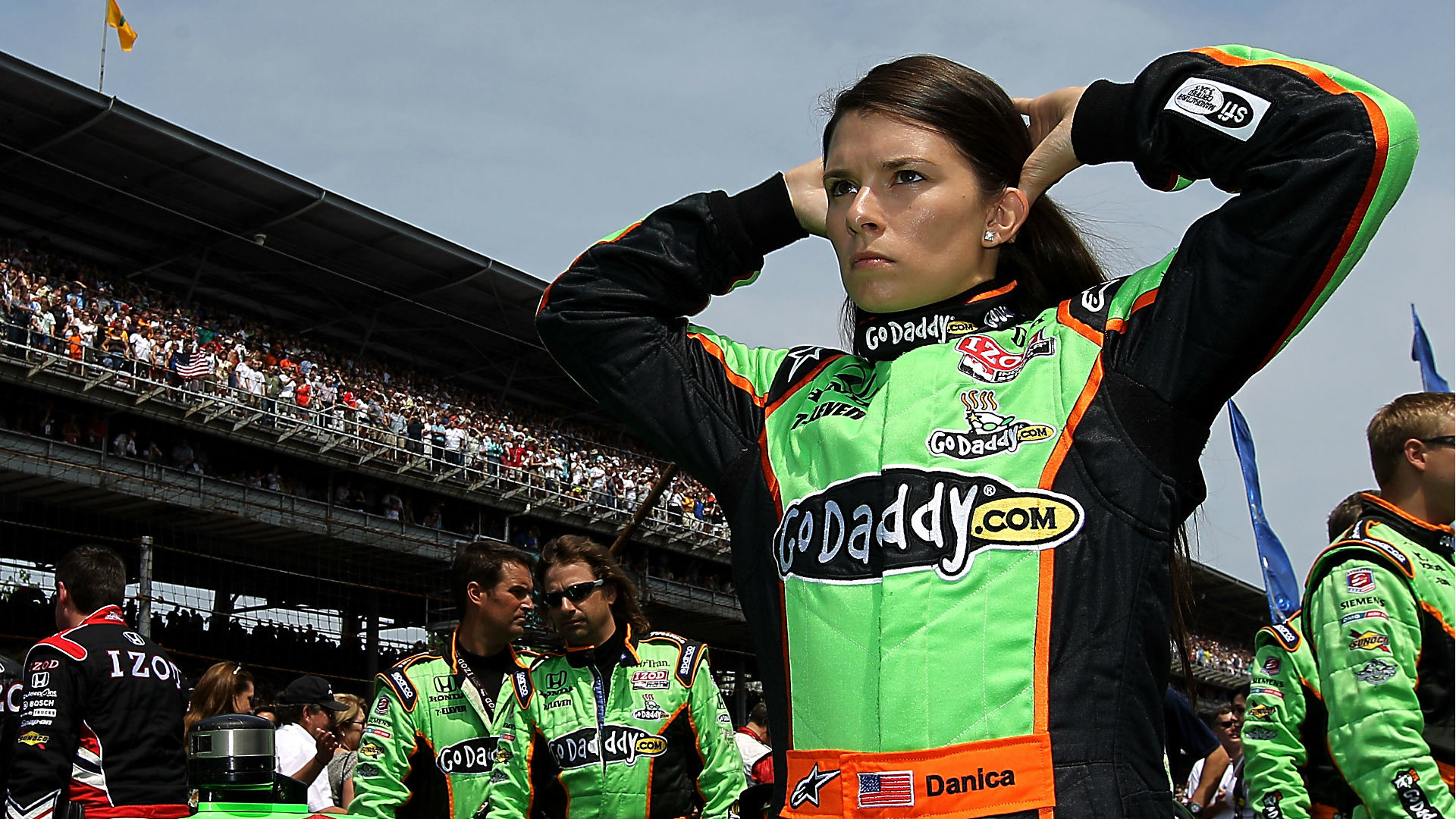 1920x1080 Danica Patrick's last Indy 500 start was in 2011. (Getty Images)