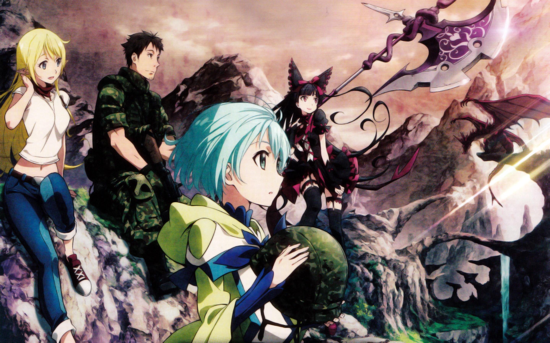 Gate anime wallpaper 68 images - Best anime wallpaper 2016 ...