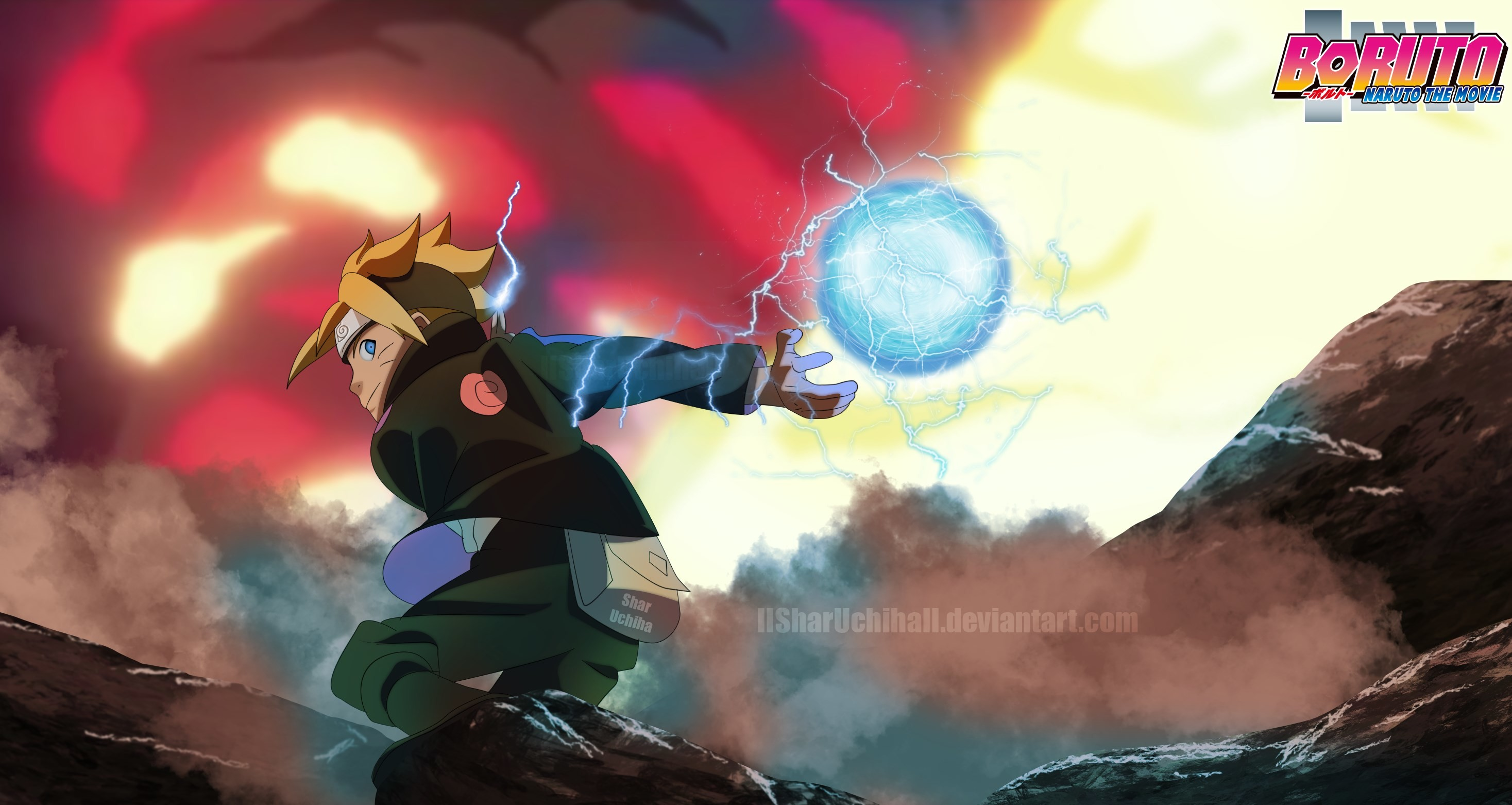 2935x1562 px boruto naruto the movie wallpaper free by Hallstein Little