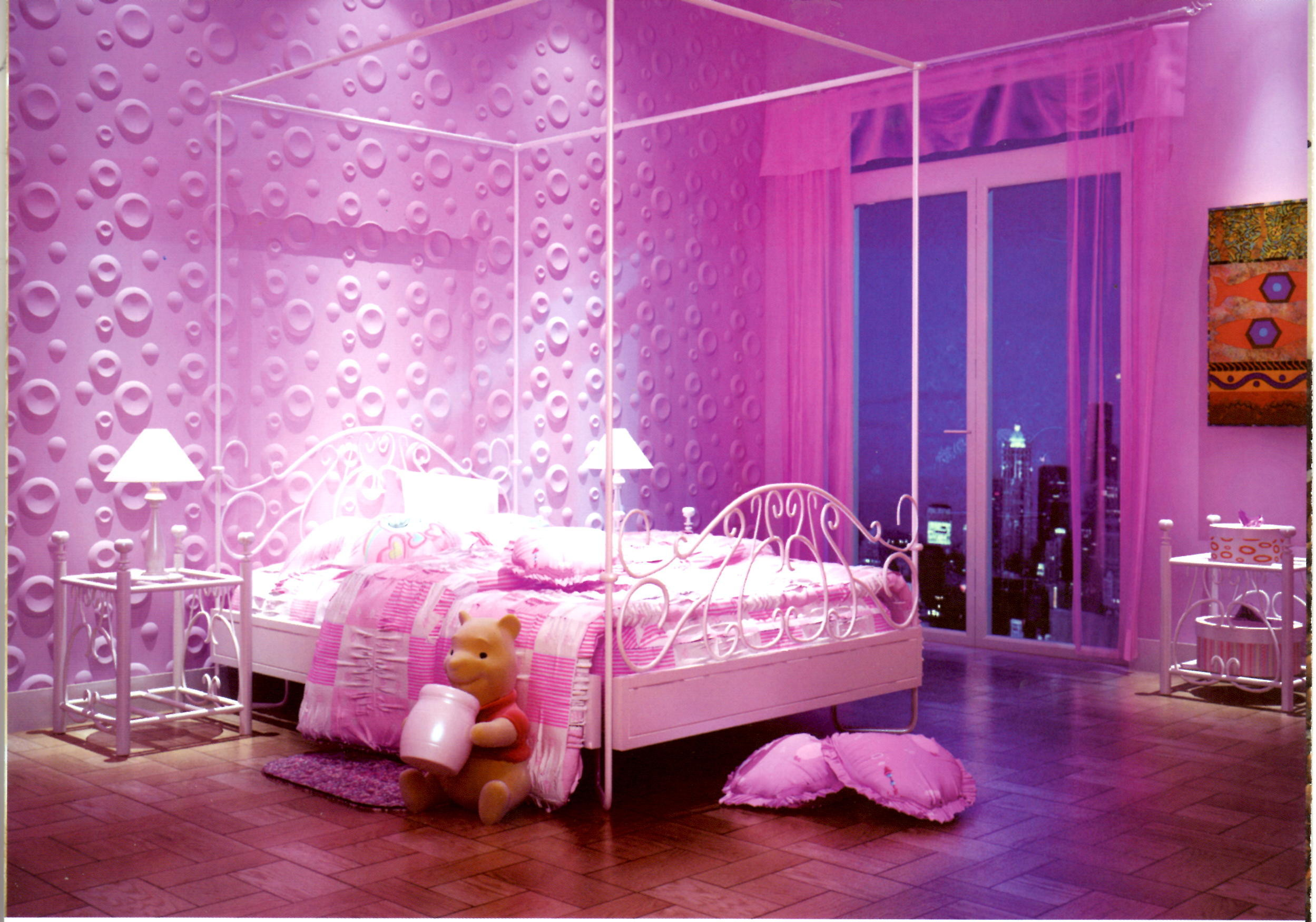 Pink Wallpaper for Girls Room (34+ images)