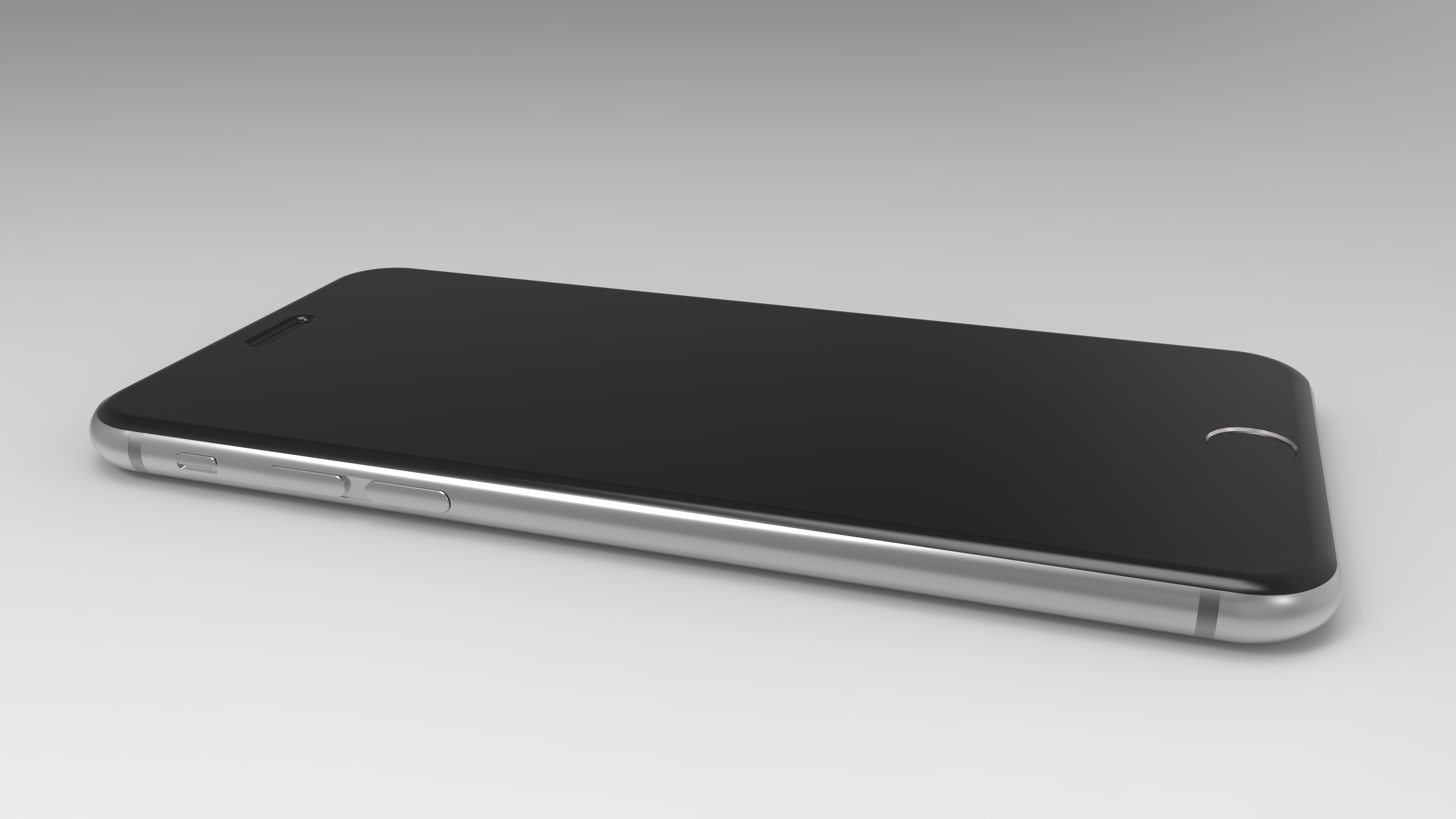 3840x2160 Download 3D model of iPhone 6, iPhone 6 Plus, iPhone 6s, iPhone 6 Plus and  more | 4K Side