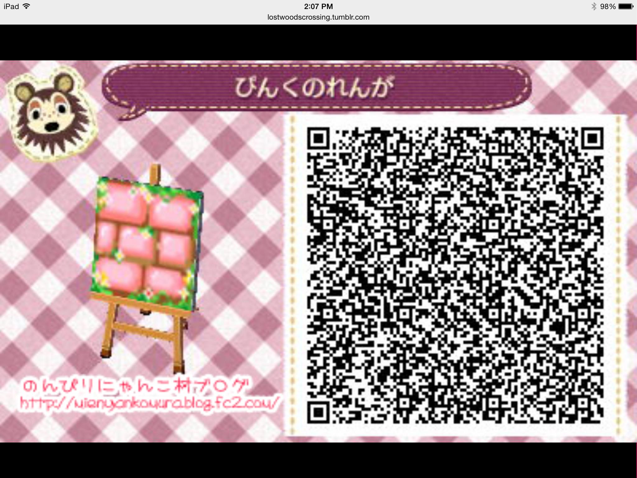 Acnl Wallpaper Qr Codes 37 Images