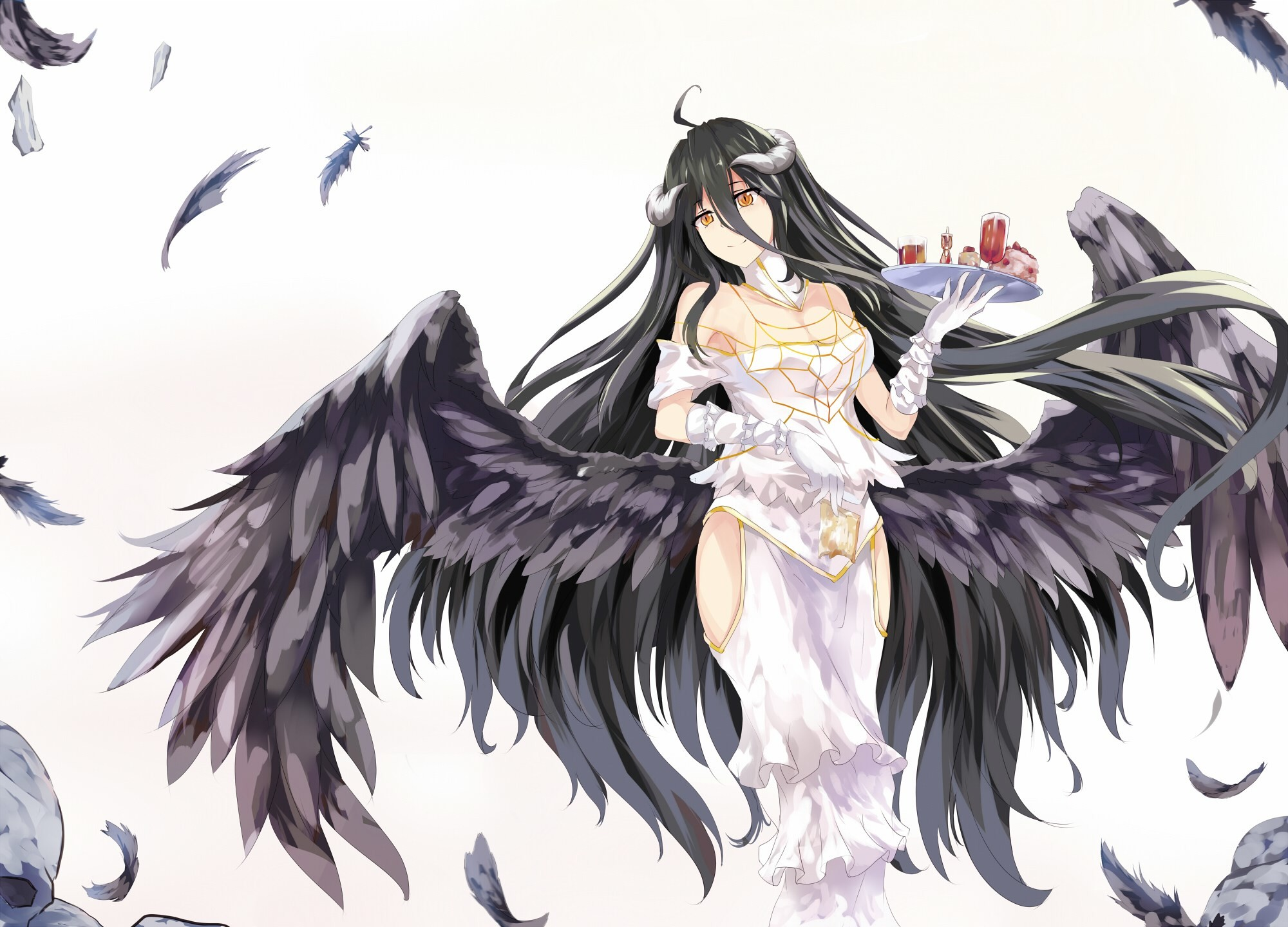 2000x1440 overlord albedo wallpaper ...