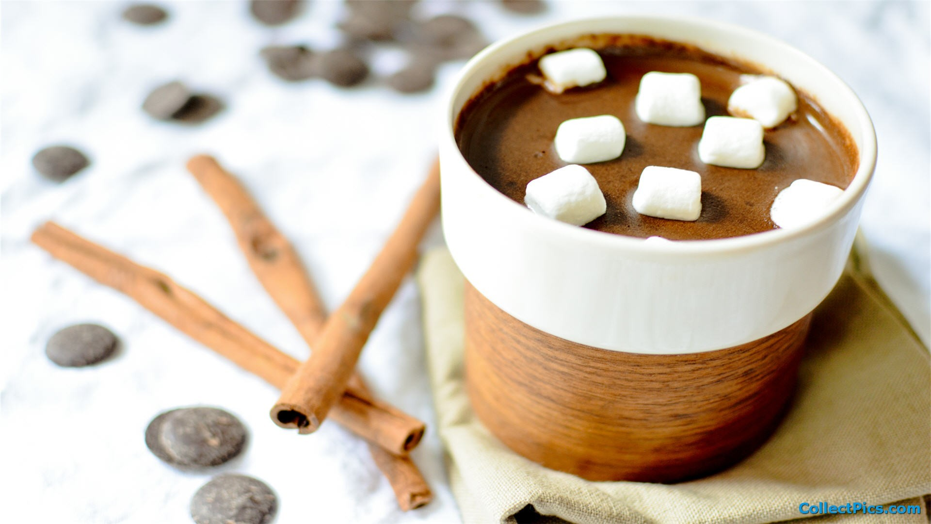1920x1080 Hot Chocolate Desktop Wallpaper HD  #4189