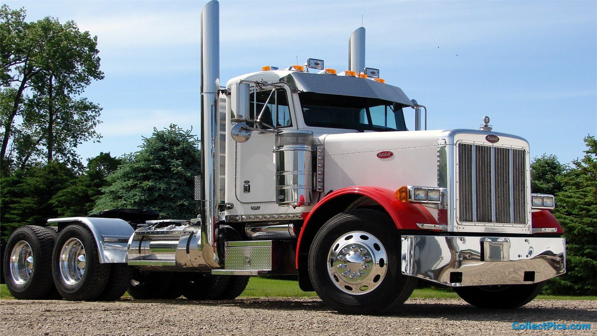 1920x1080 Peterbilt Truck Wallpaper HD  #4793