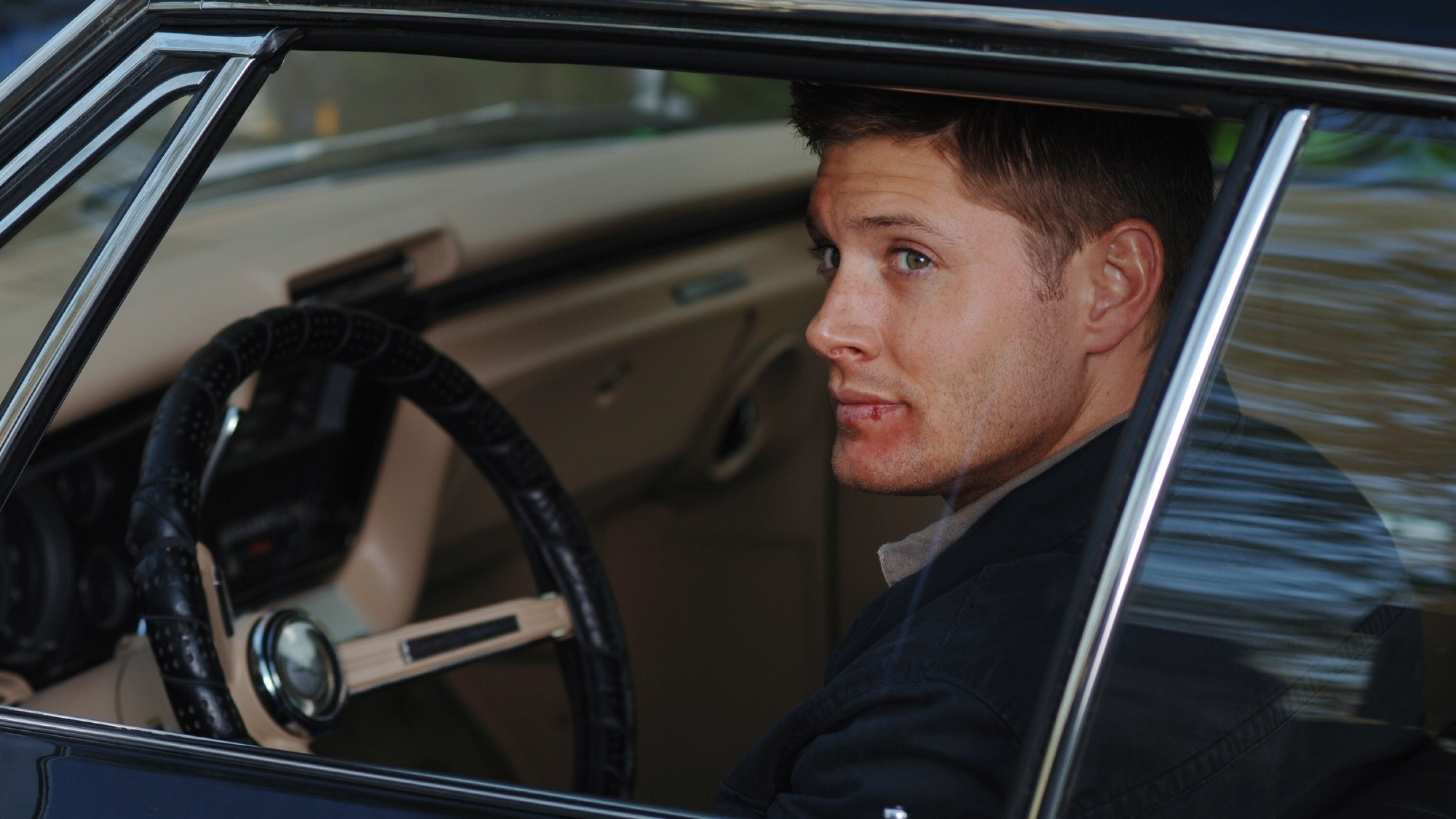 3840x2160  Wallpaper dean winchester, jensen ackles, supernatural, actor