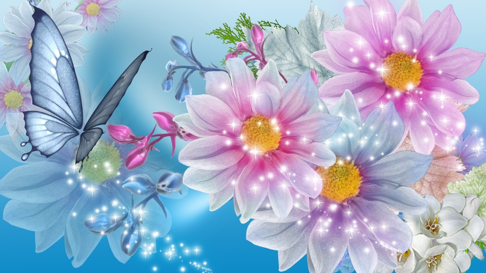 Beautiful Floral Backgrounds 44 Images