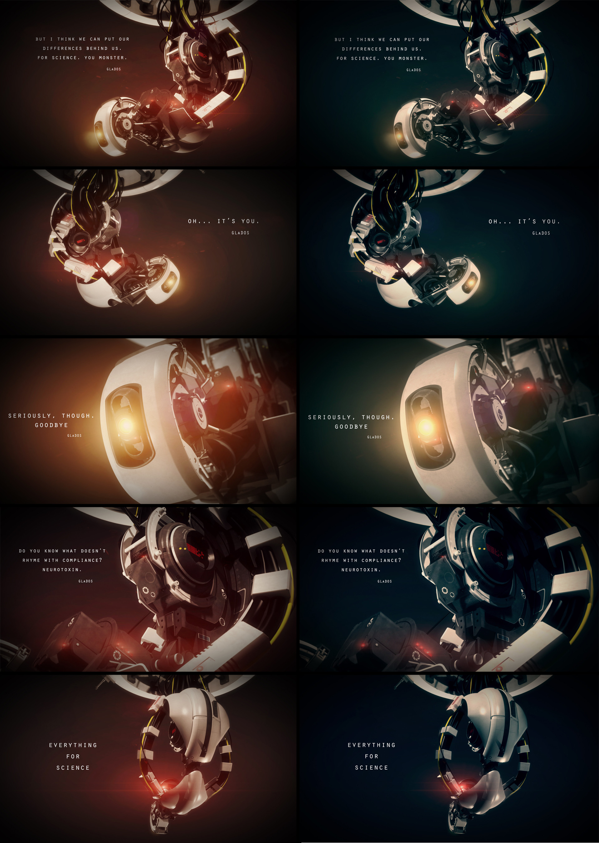 1920x2700 GLaDOS Quotes | GLaDOS - Wallpapers by First9 on deviantART · Portal 2