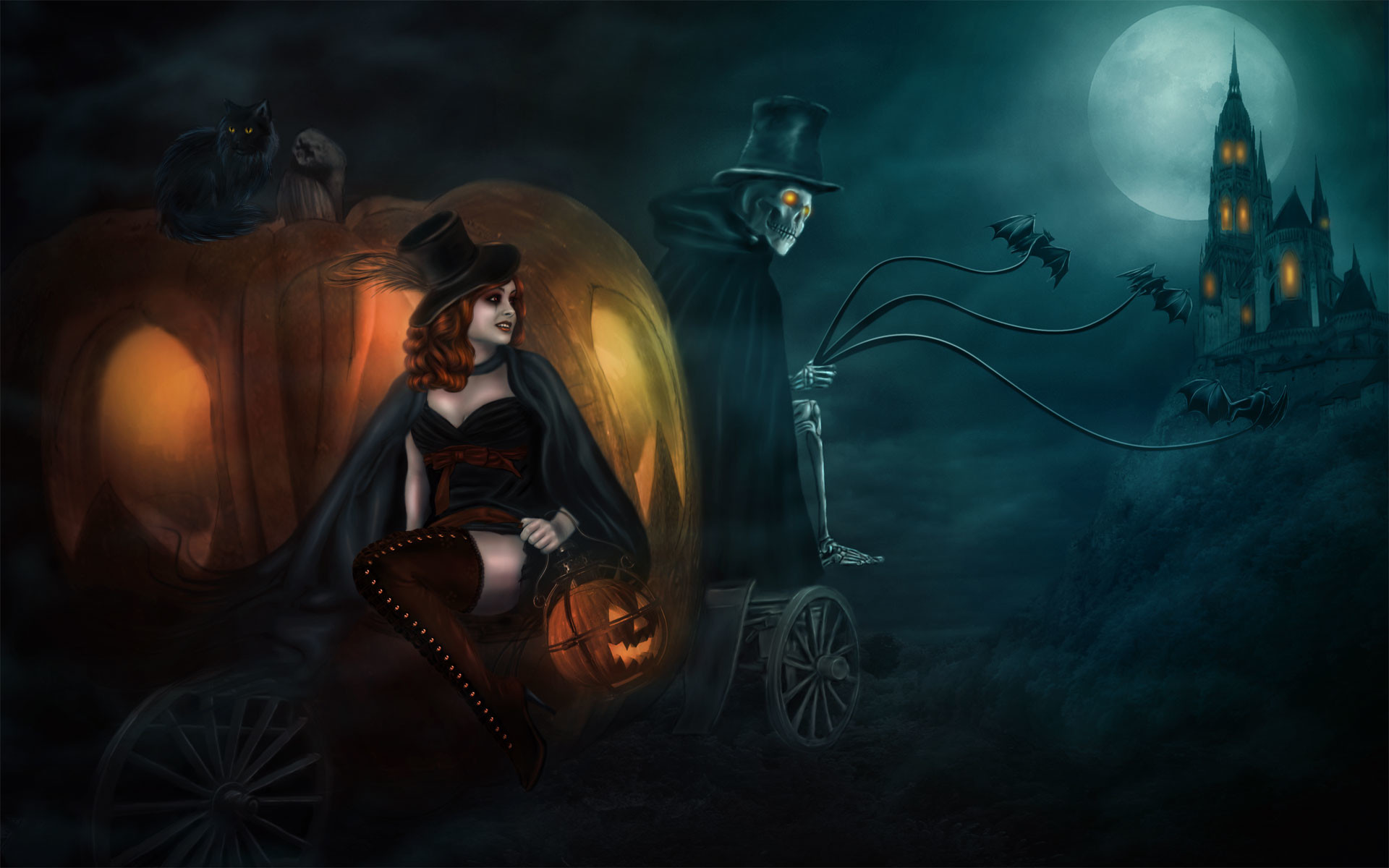 1920x1200 Halloween 2014 Wallpaper HD