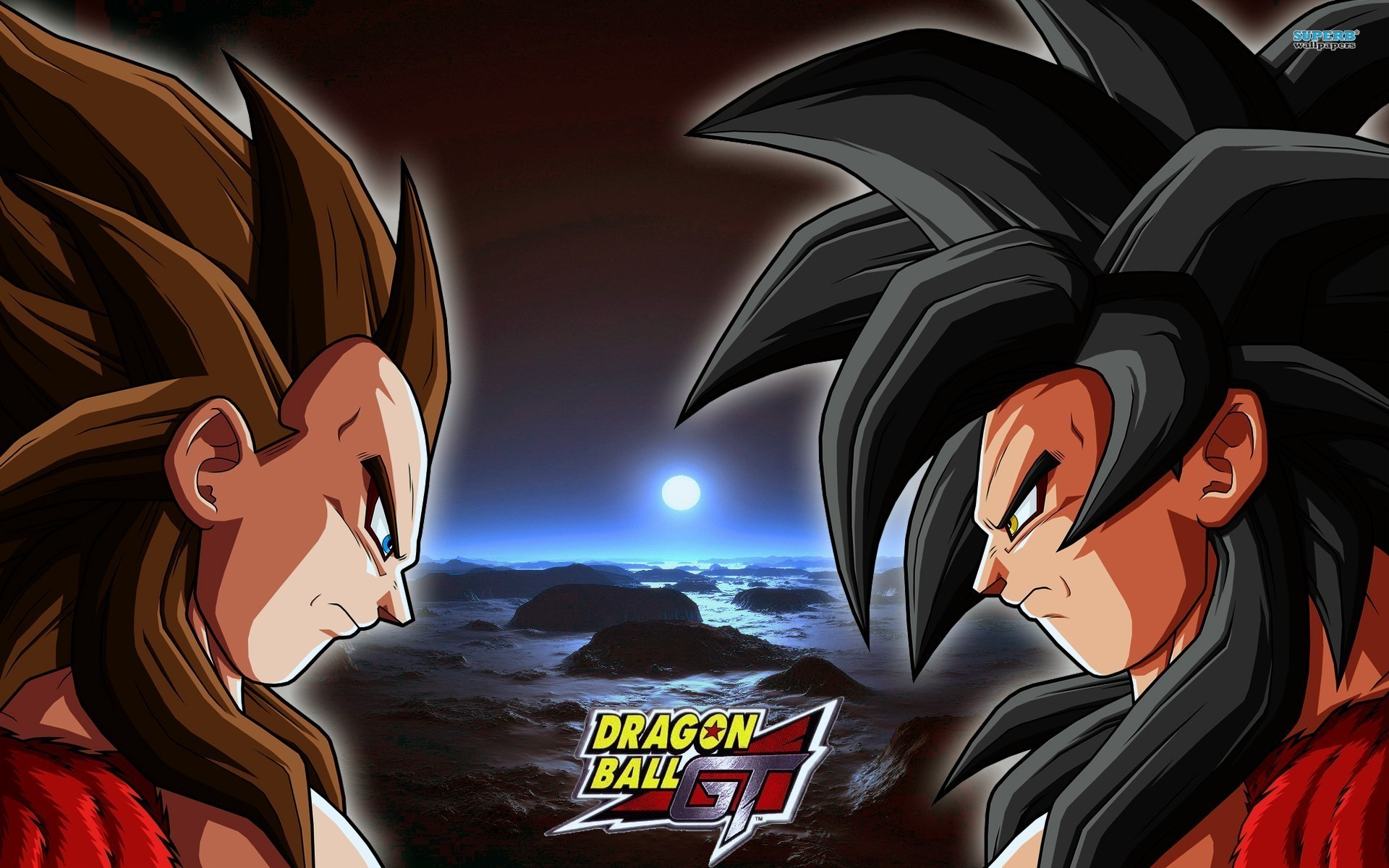 Super saiyan 4 goku and vegeta wallpapers 60 images - Dragon ball gt goku wallpaper ...