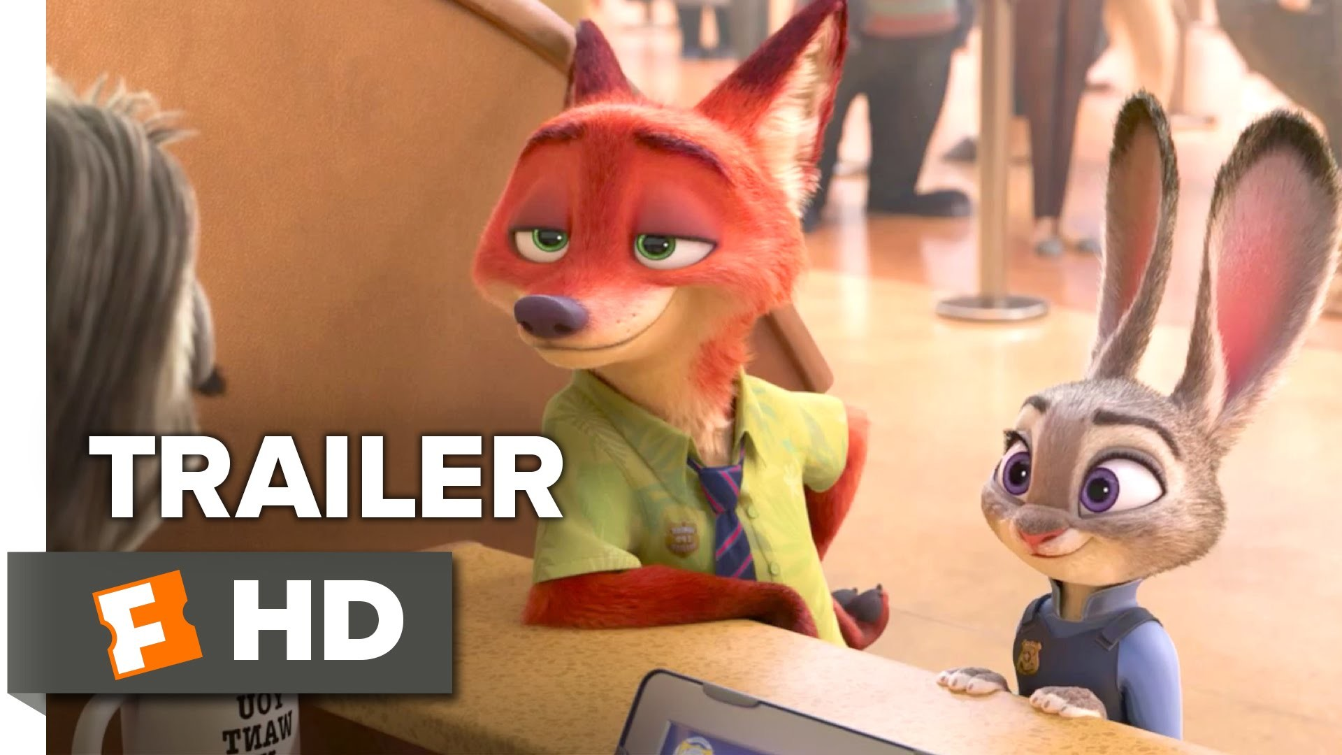 1920x1080 Zootopia Official Sloth Trailer (2016) - Disney Animated Movie HD - YouTube