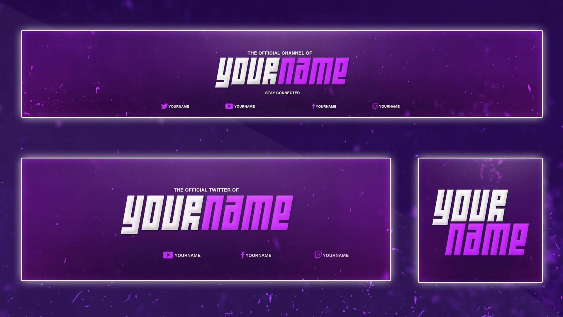 reupload cinema 4d photoshop sick 3d youtube banner template 6
