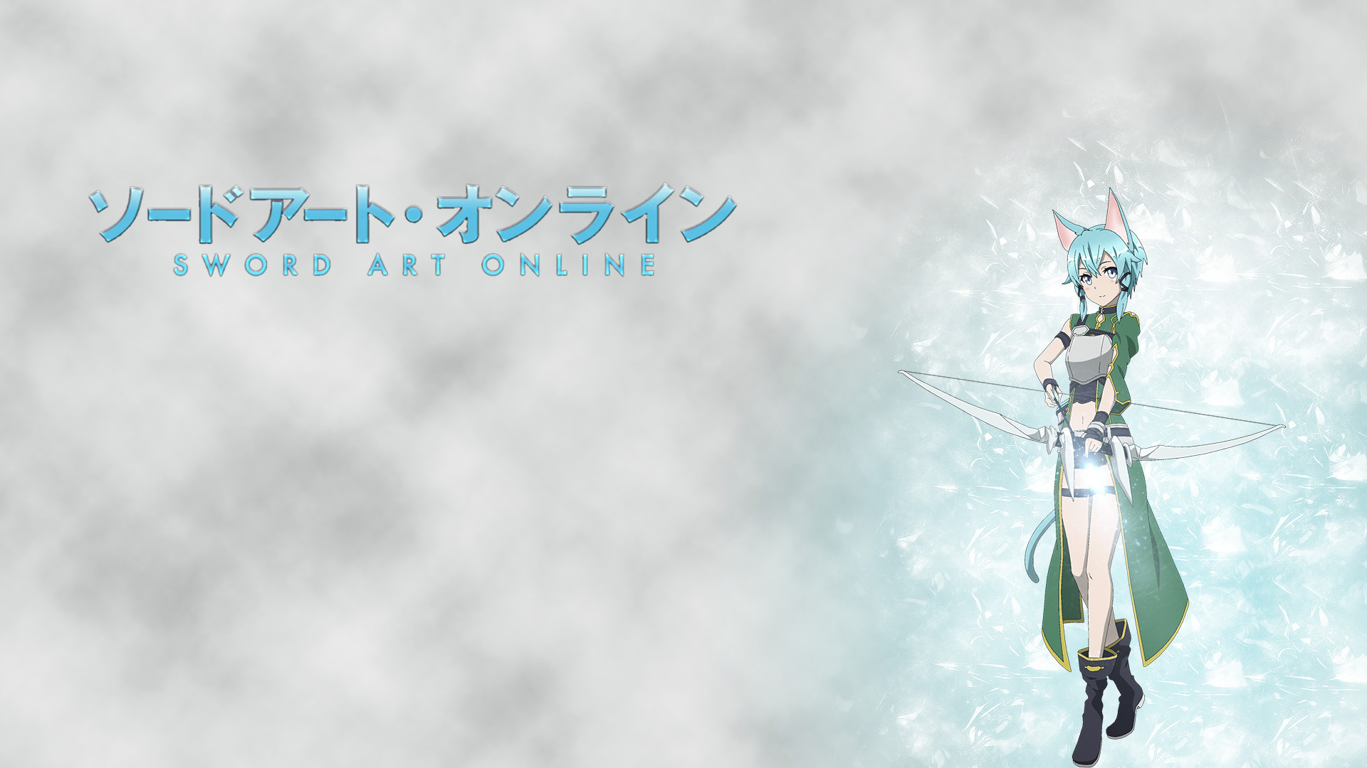 1920x1080 Wallpaper I made with Sinon from Sword Art Online 2 ...