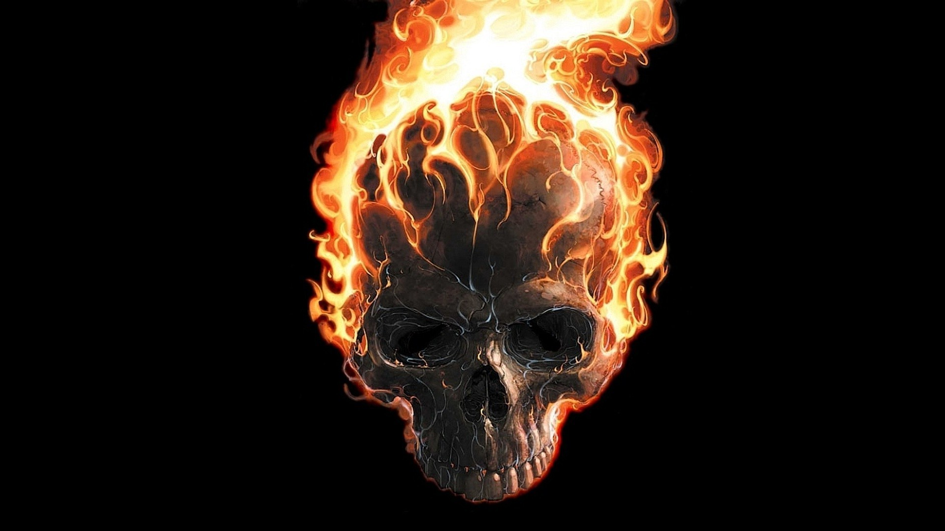 Skull Fire Wallpaper (61+ Images