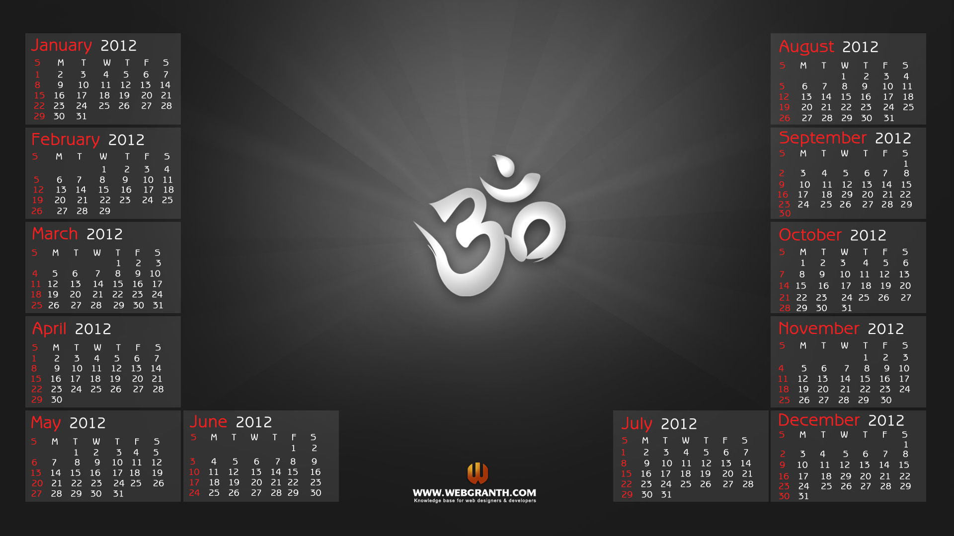Yearly Calendar Wallpaper : Wallpapers with calendar  images