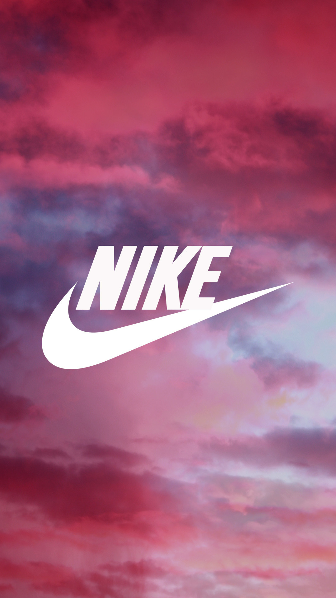 1080x1920 nike sign wallpaper Pink Nike Wallpaper ·①