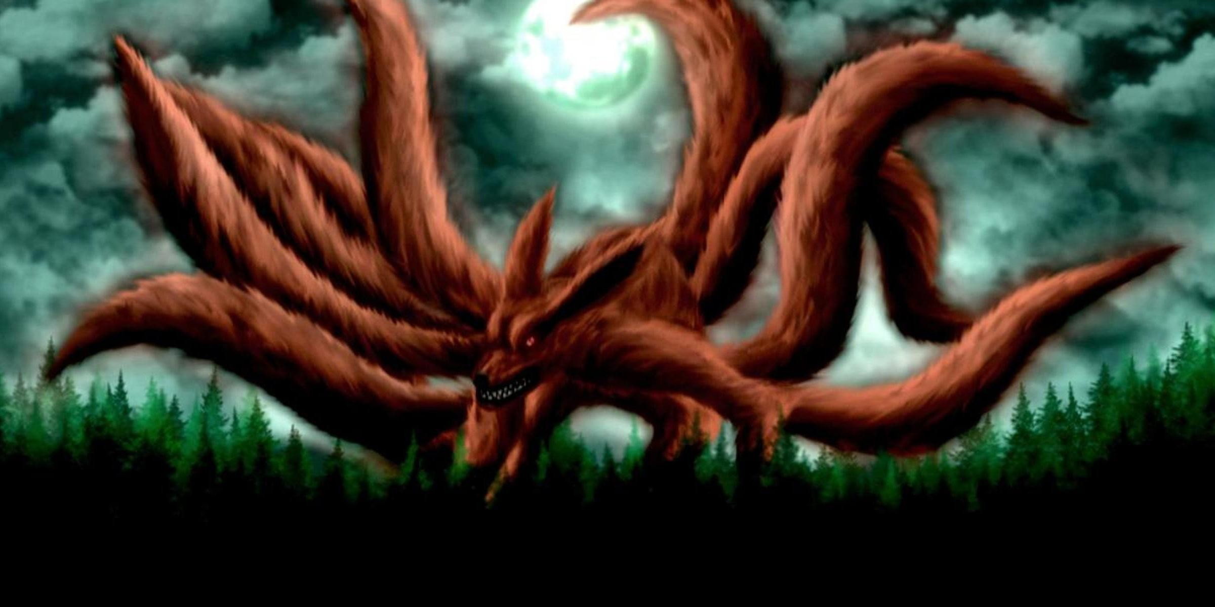 2400x1200 Naruto Nine Tails Hd Wallpaper - Viewing Gallery