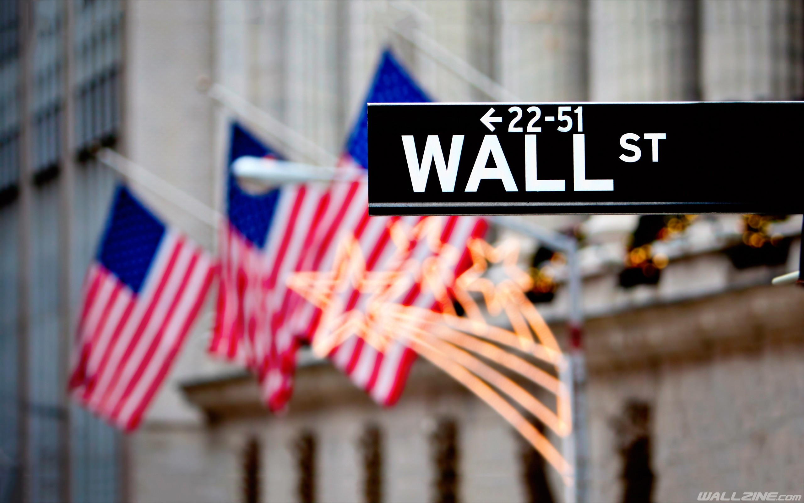 2560x1600 Wall Street Wallpaper