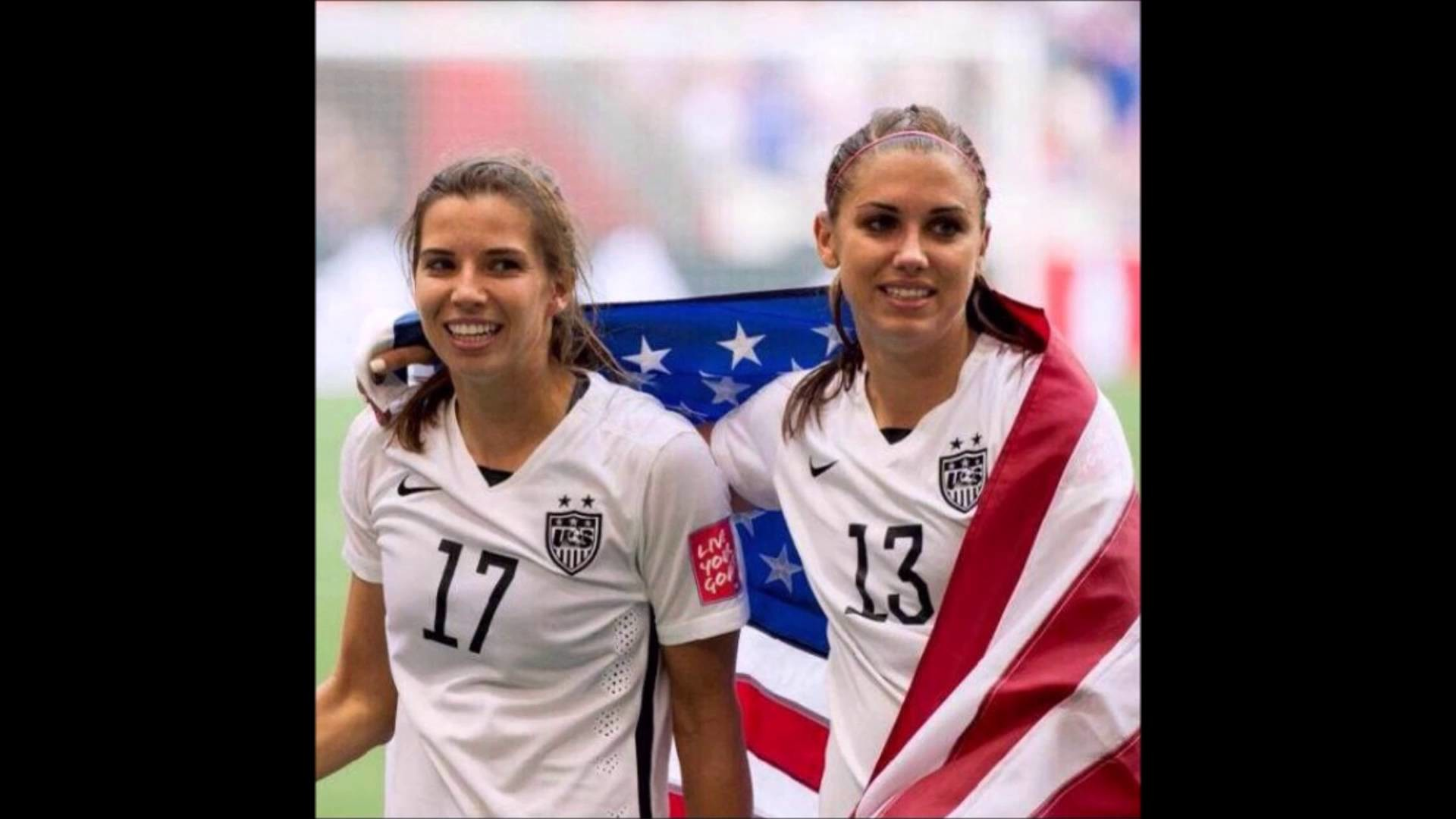 1920x1080 INOLVIDABLE Alex Morgan & Tobin Heath #Talex