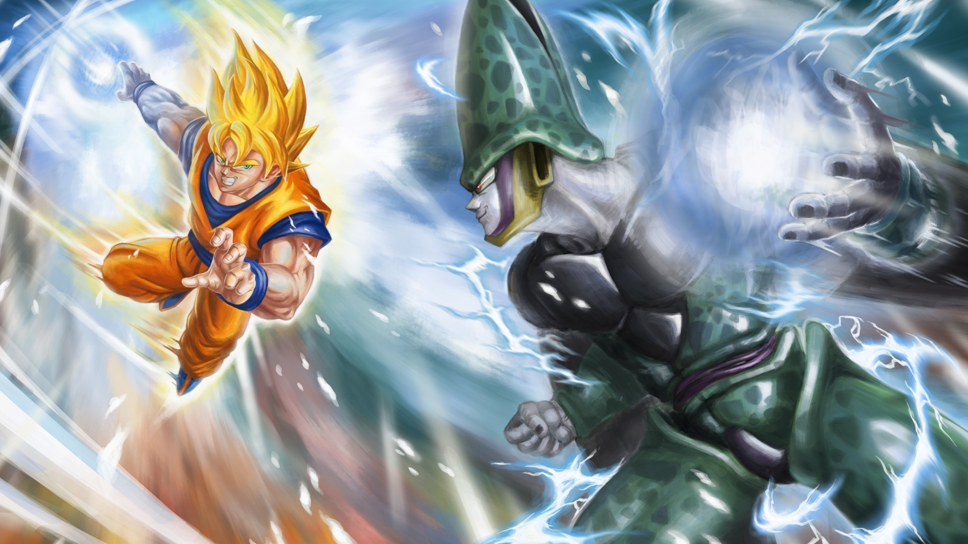 Dbz hd wallpaper 1920x1080 63 images - 3d wallpaper of dragon ball z ...