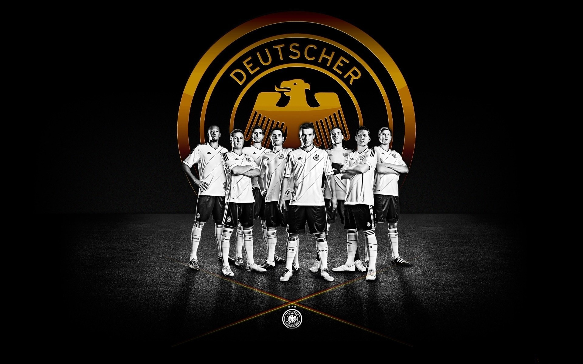 1920x1200 Soccer Team German Wallpaper